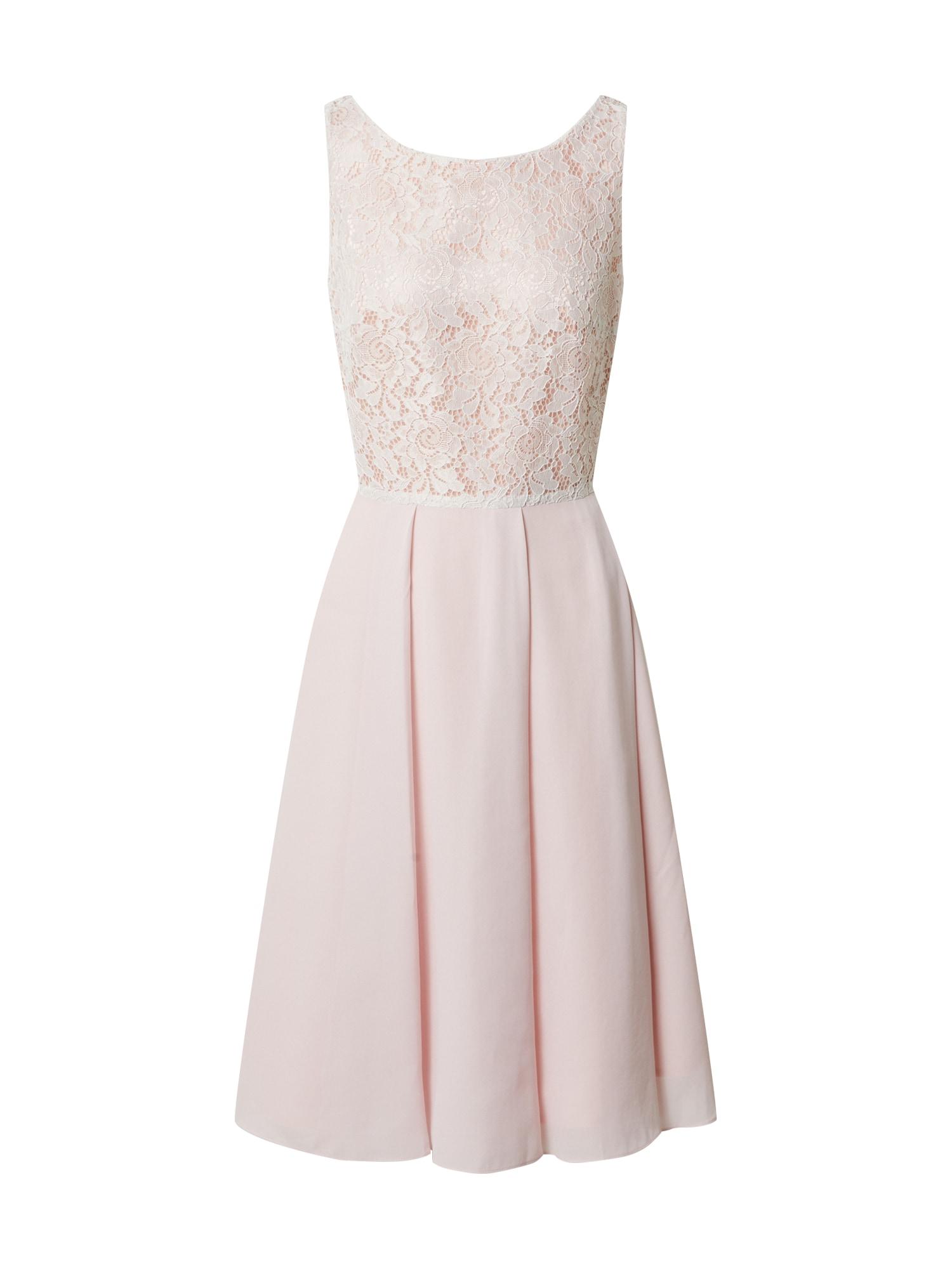 SWING Suknelė rožinė / dramblio kaulo