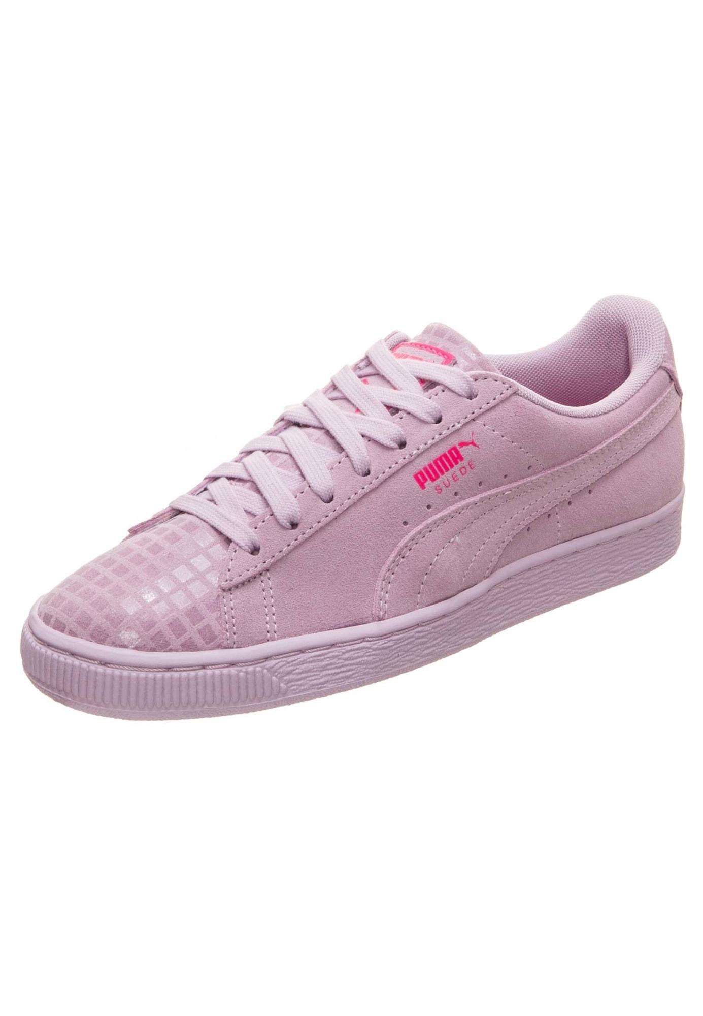 14765a8bde7 puma Puma Dames Sneakers Laag Suede Classic Street Lila puma kopen in de  aanbieding