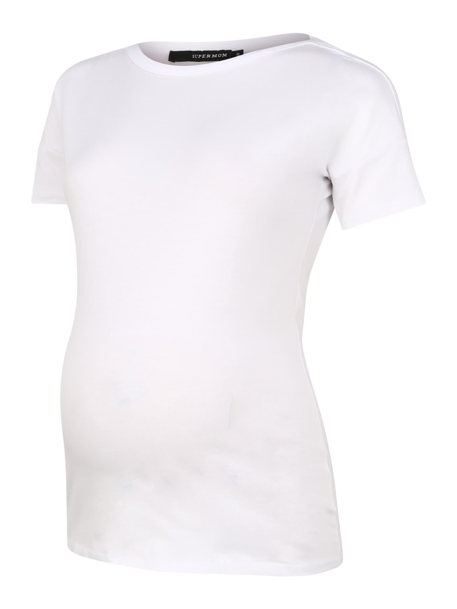 Supermom Marškinėliai balta