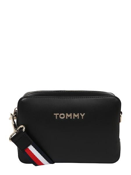 Schultertaschen für Frauen - Umhängetasche 'Iconic' › Tommy Hilfiger › blau rot schwarz weiß  - Onlineshop ABOUT YOU