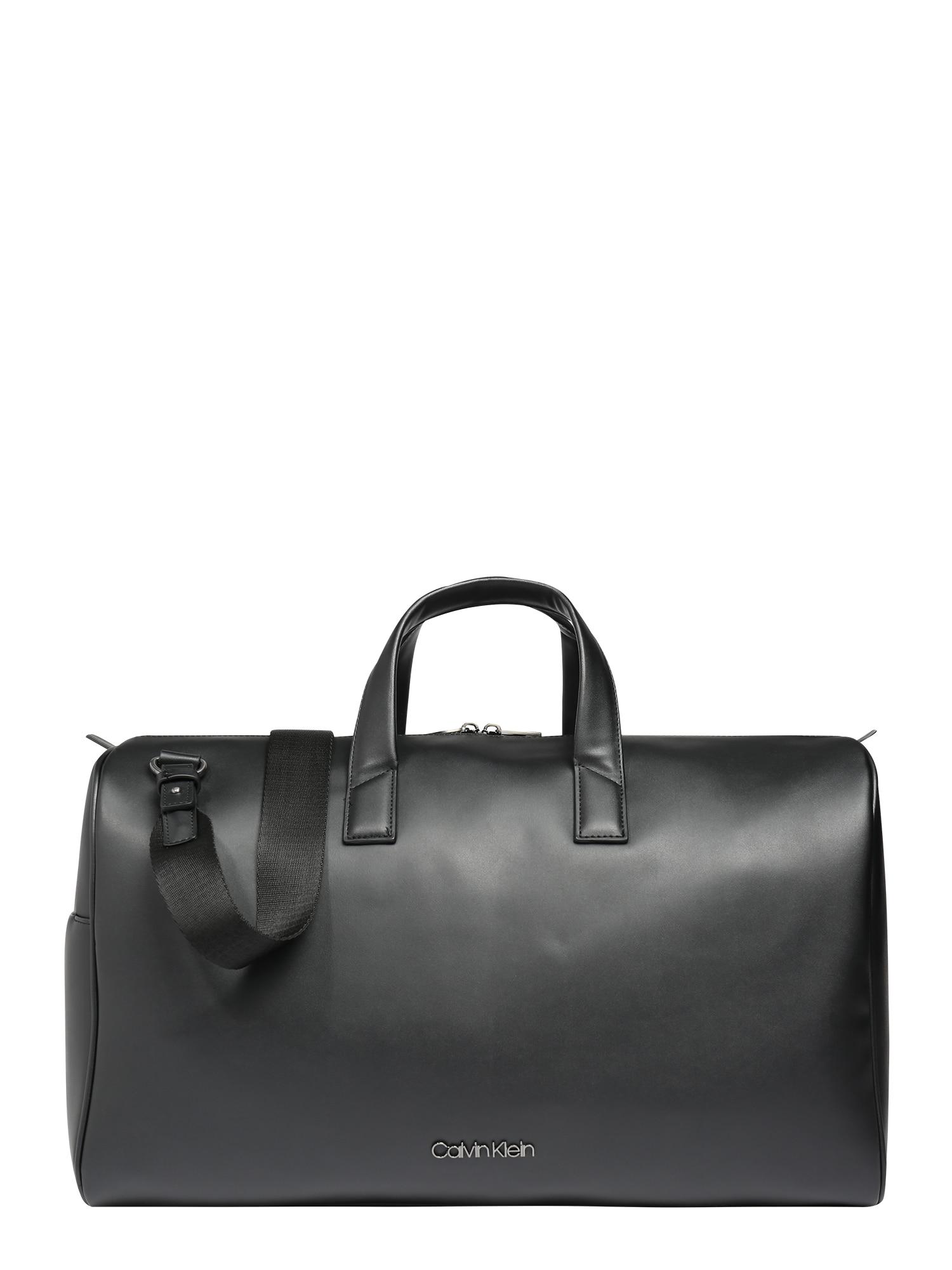 Calvin Klein Víkendová taška  čierna