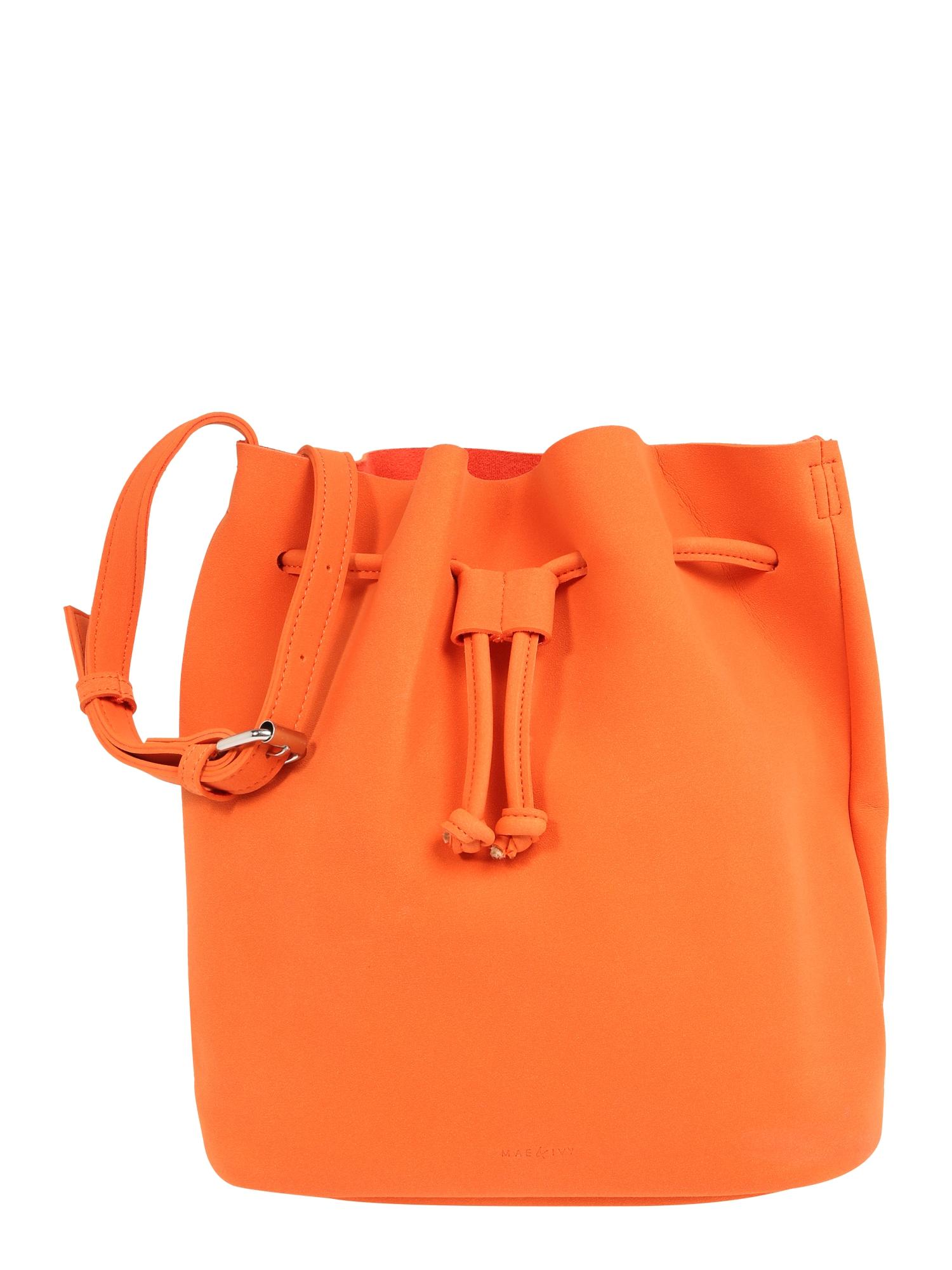 Vak Mila Bucket Bag oranžová Mae & Ivy