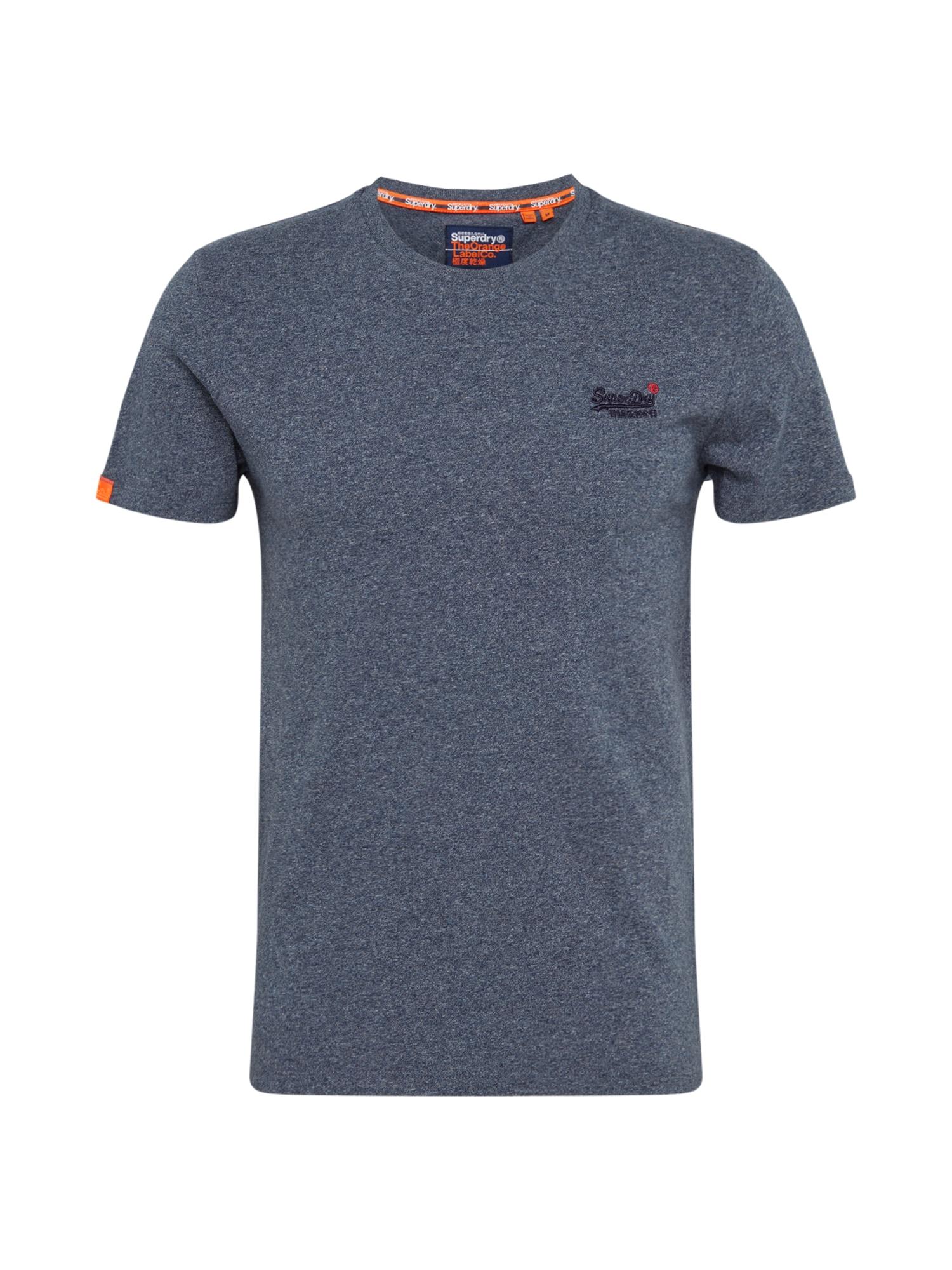 Superdry Marškinėliai 'OL VINTAGE EMB CREW' mėlyna