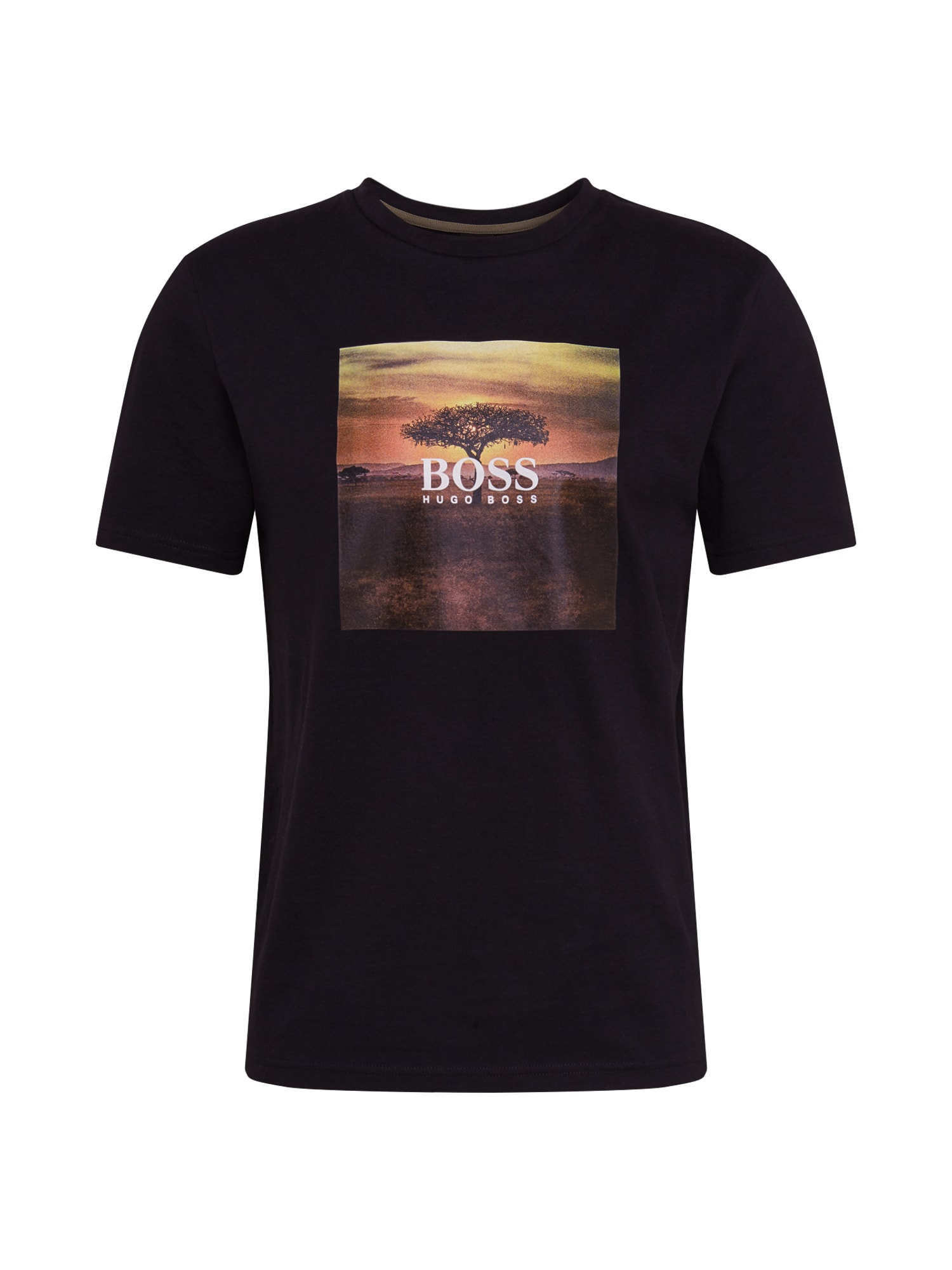 BOSS Marškinėliai 'Troaar 5' mišrios spalvos / juoda
