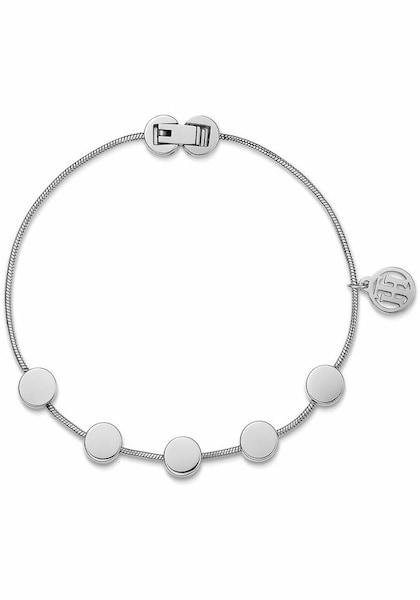 Armbaender für Frauen - TOMMY HILFIGER Armband 'Classic Signature, 2700979' silber  - Onlineshop ABOUT YOU