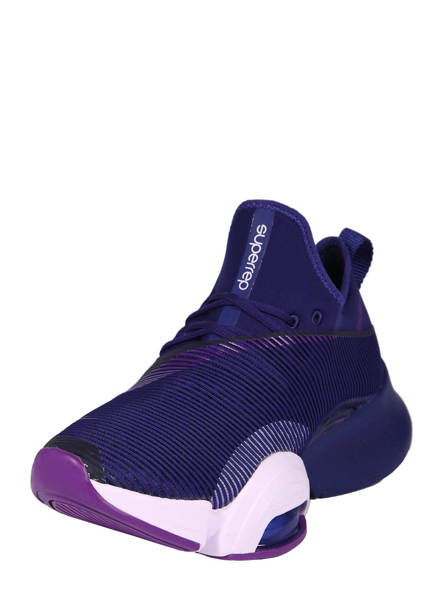 NIKE Sportiniai batai 'Air Zoom SuperRep' tamsiai mėlyna
