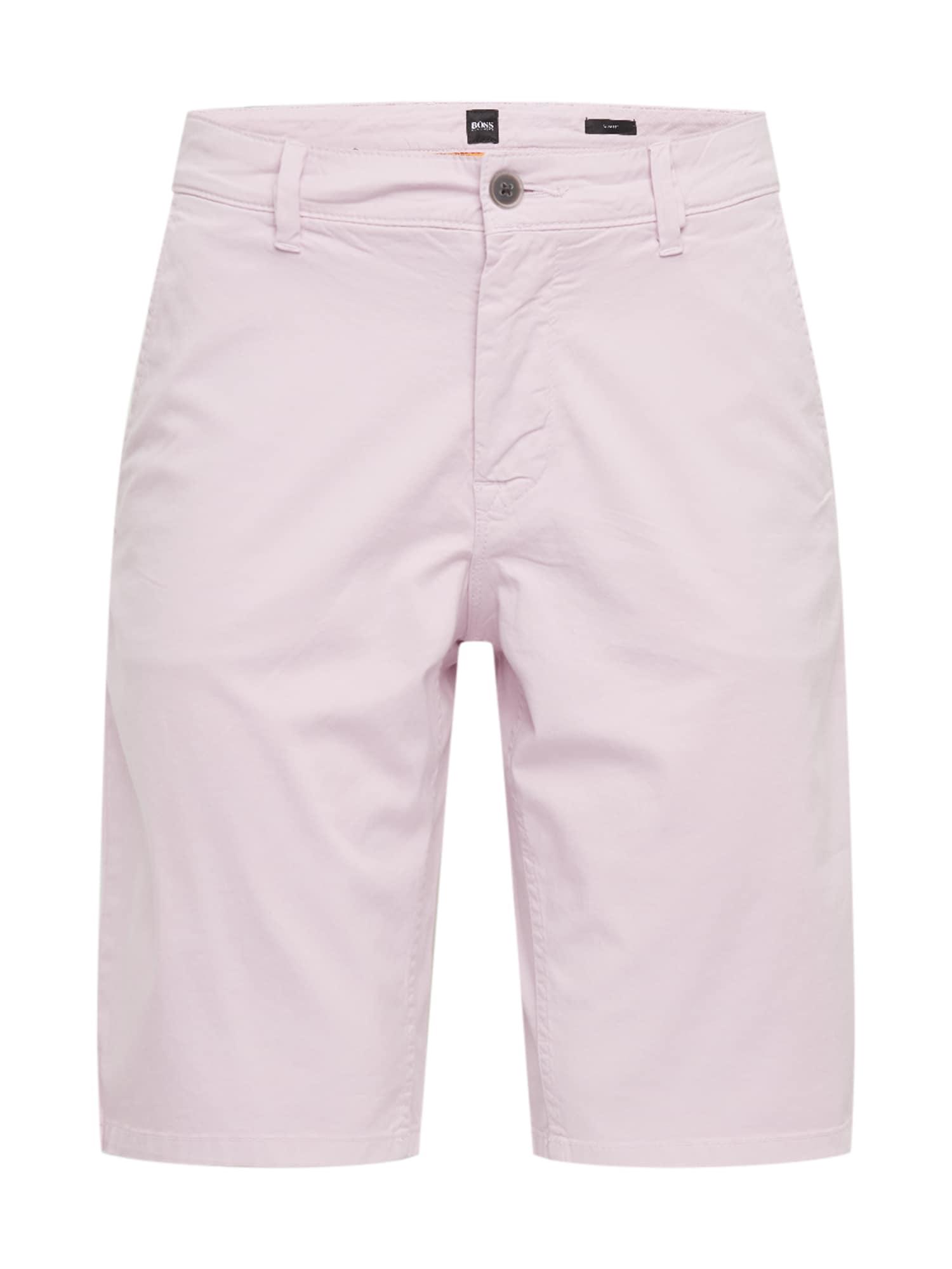 BOSS Kelnės 'Schino-Slim Shorts' rožių spalva