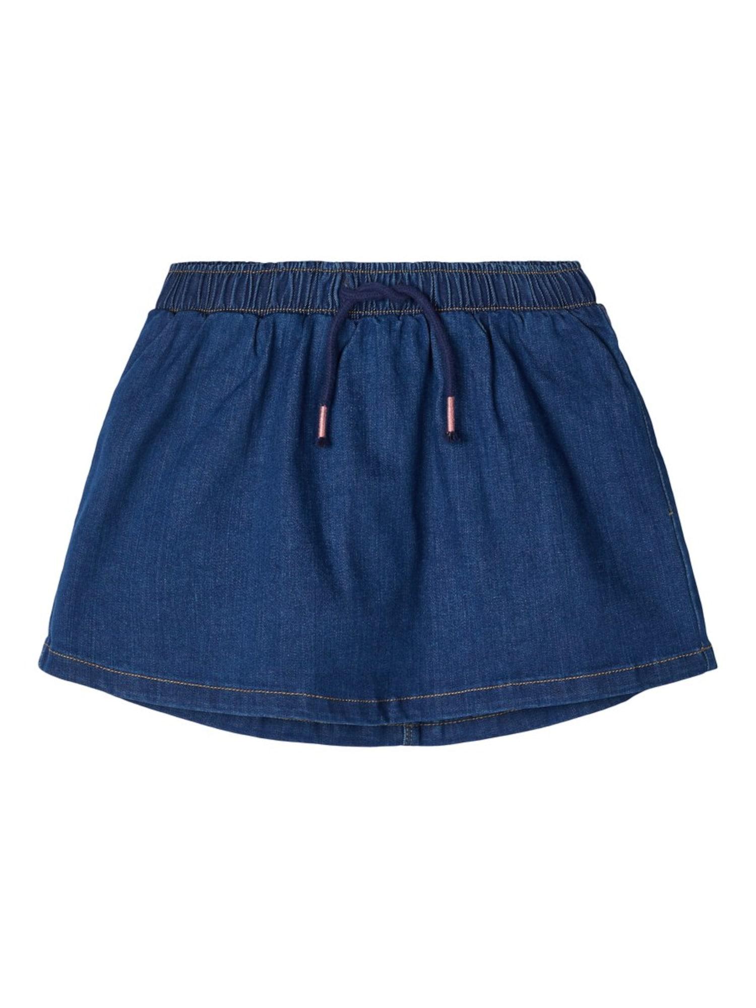 NAME IT Sijonas tamsiai (džinso) mėlyna