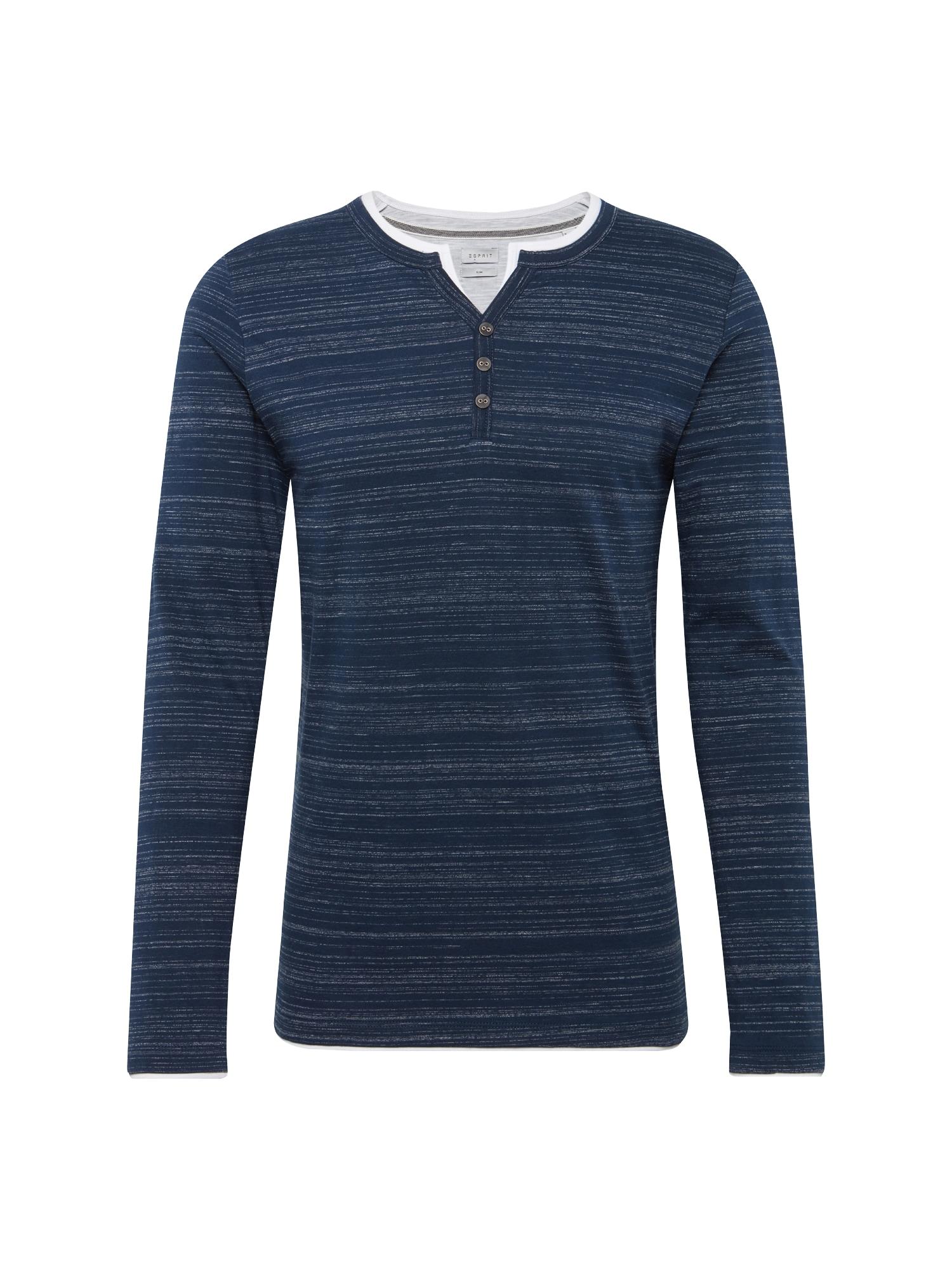 ESPRIT Marškinėliai 'N hen 2in1 ls' tamsiai mėlyna