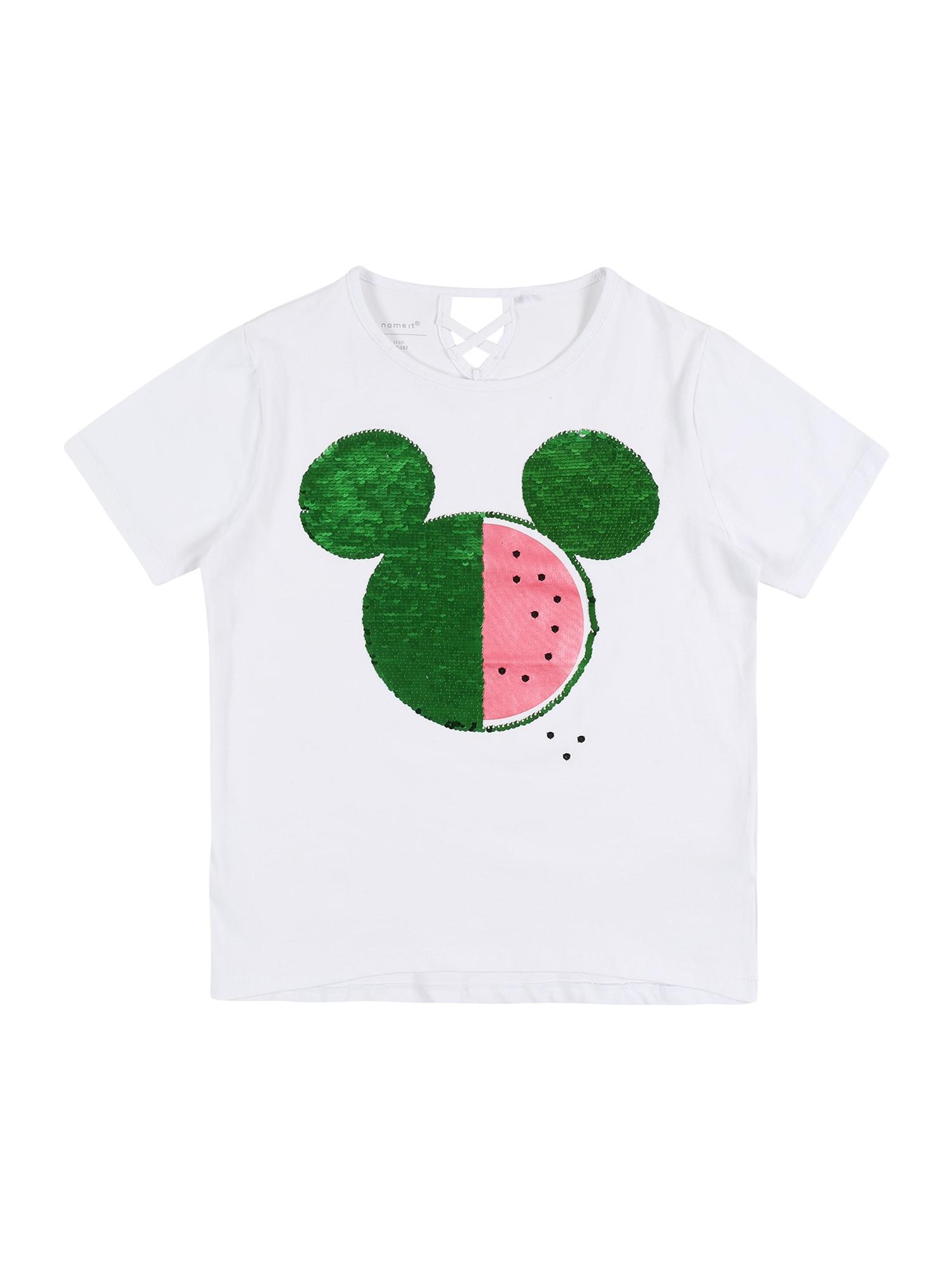 NAME IT Marškinėliai 'Minnie' balta