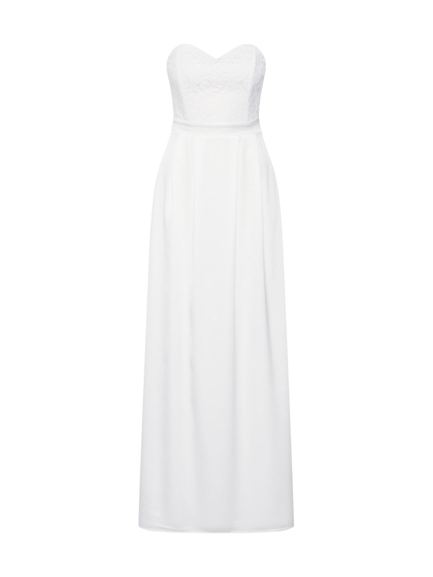ABOUT YOU Vakarinė suknelė 'Laila' balta