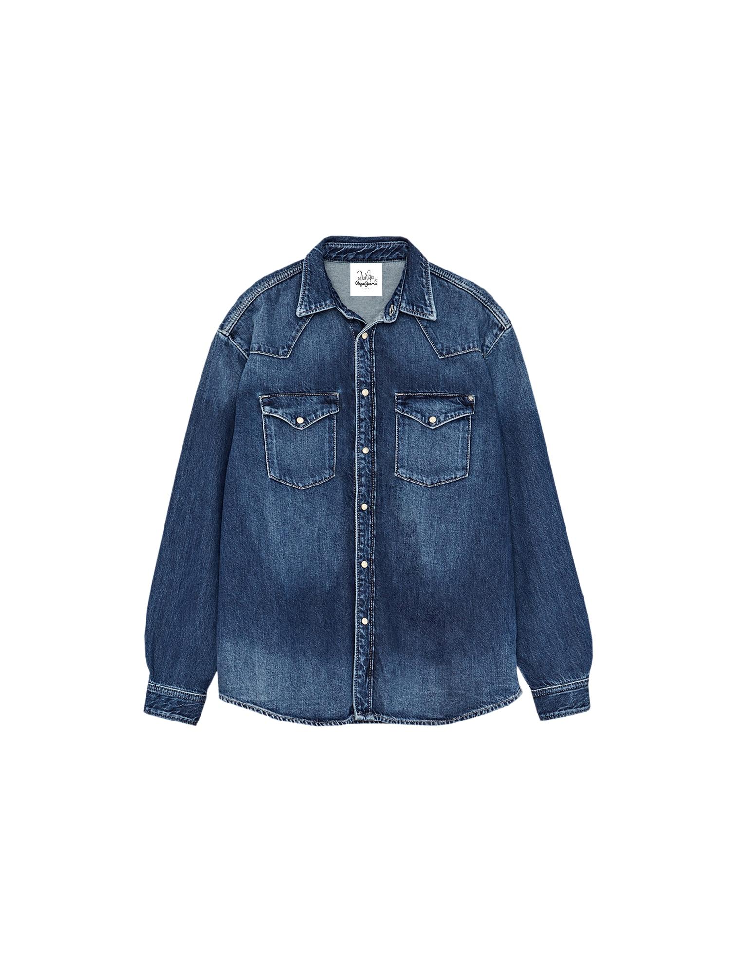 Pepe Jeans Palaidinė 'BLISS' tamsiai (džinso) mėlyna