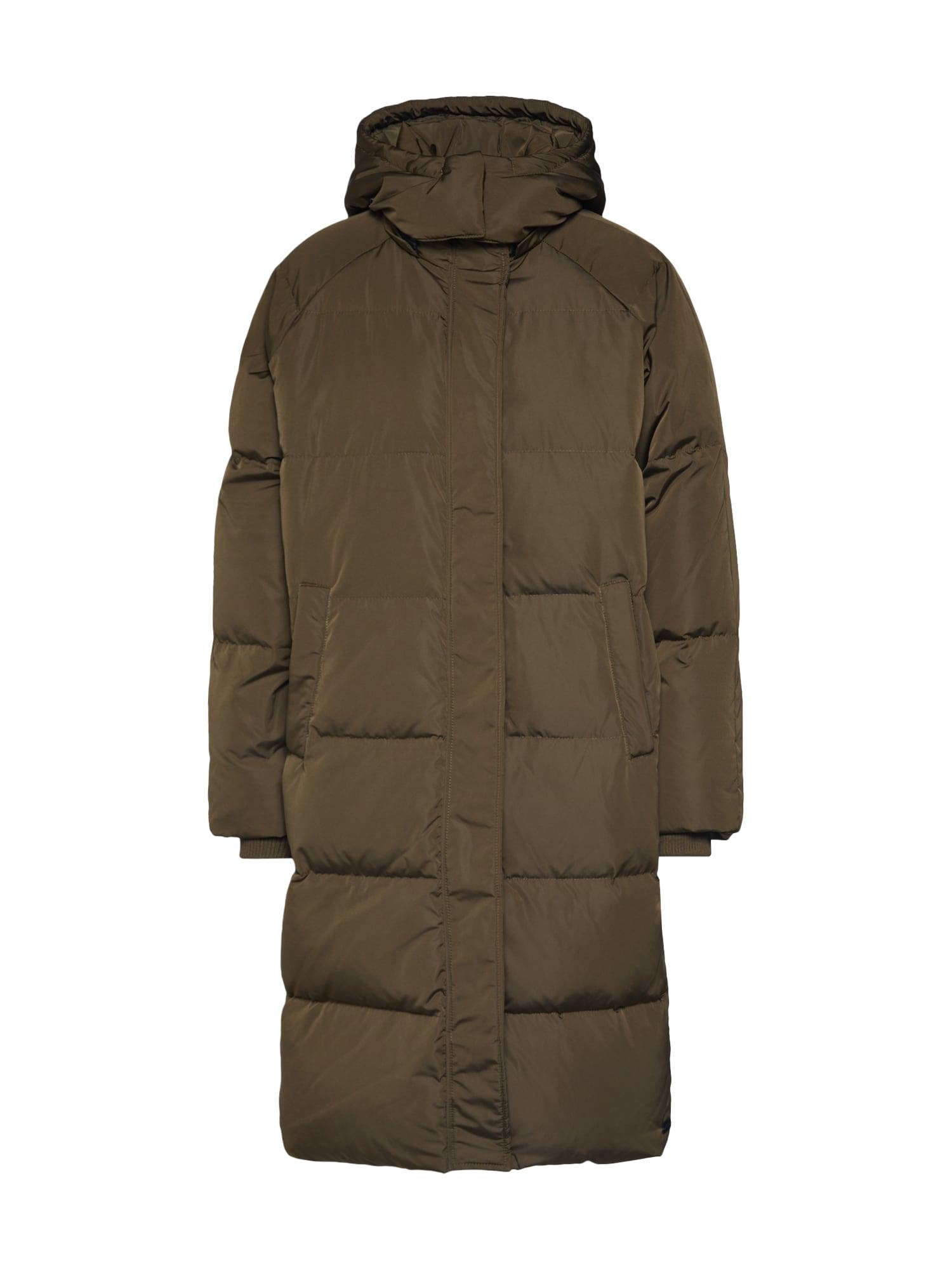 MOSS COPENHAGEN Žieminis paltas 'Skylar' žalia