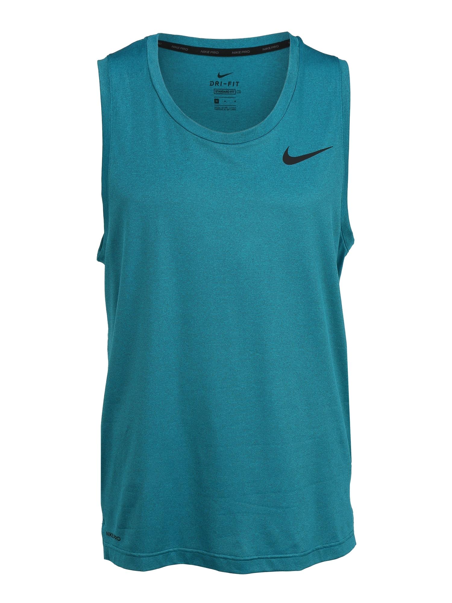 NIKE Sportiniai marškinėliai benzino spalva