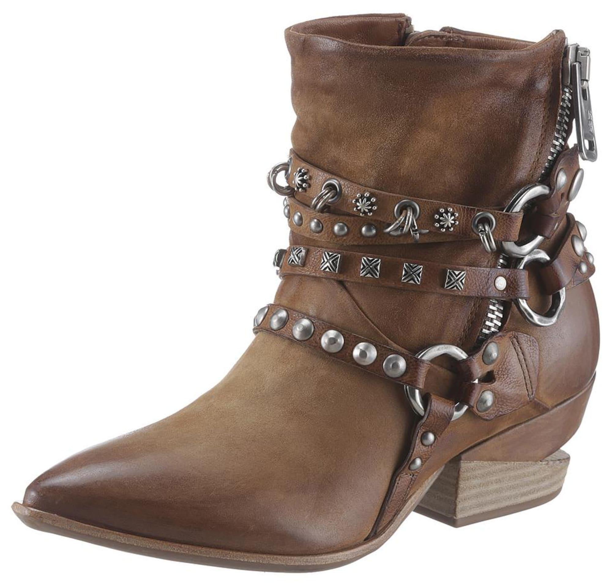 A.S.98 Kaubojiški batai ruda