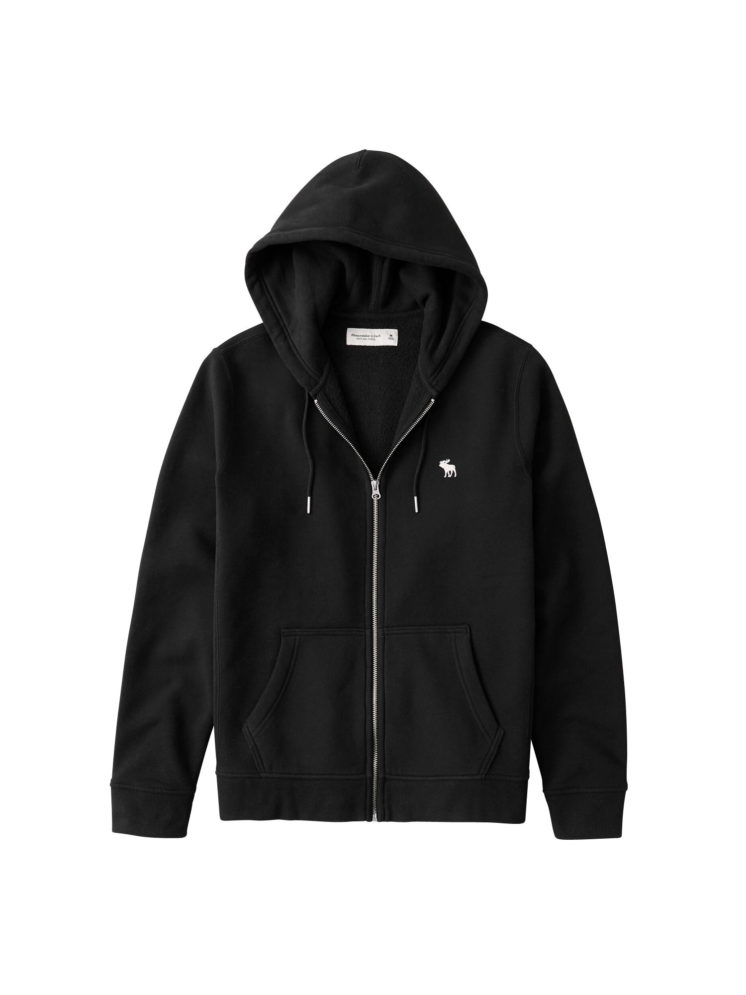 Abercrombie & Fitch Džemperis juoda