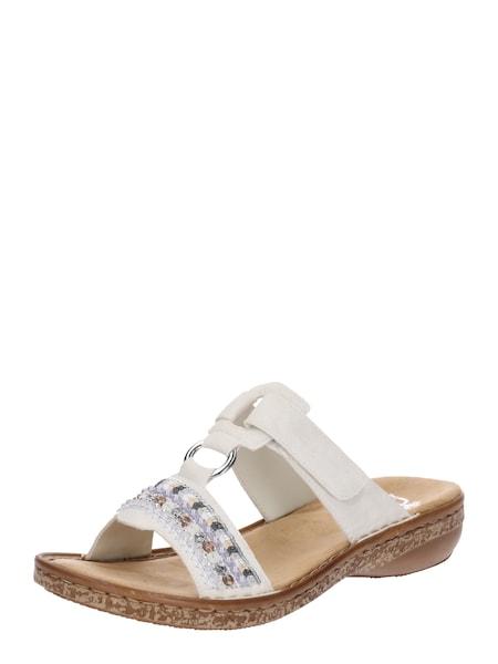 Sandalen für Frauen - RIEKER Sandalen '628M6 80' offwhite  - Onlineshop ABOUT YOU