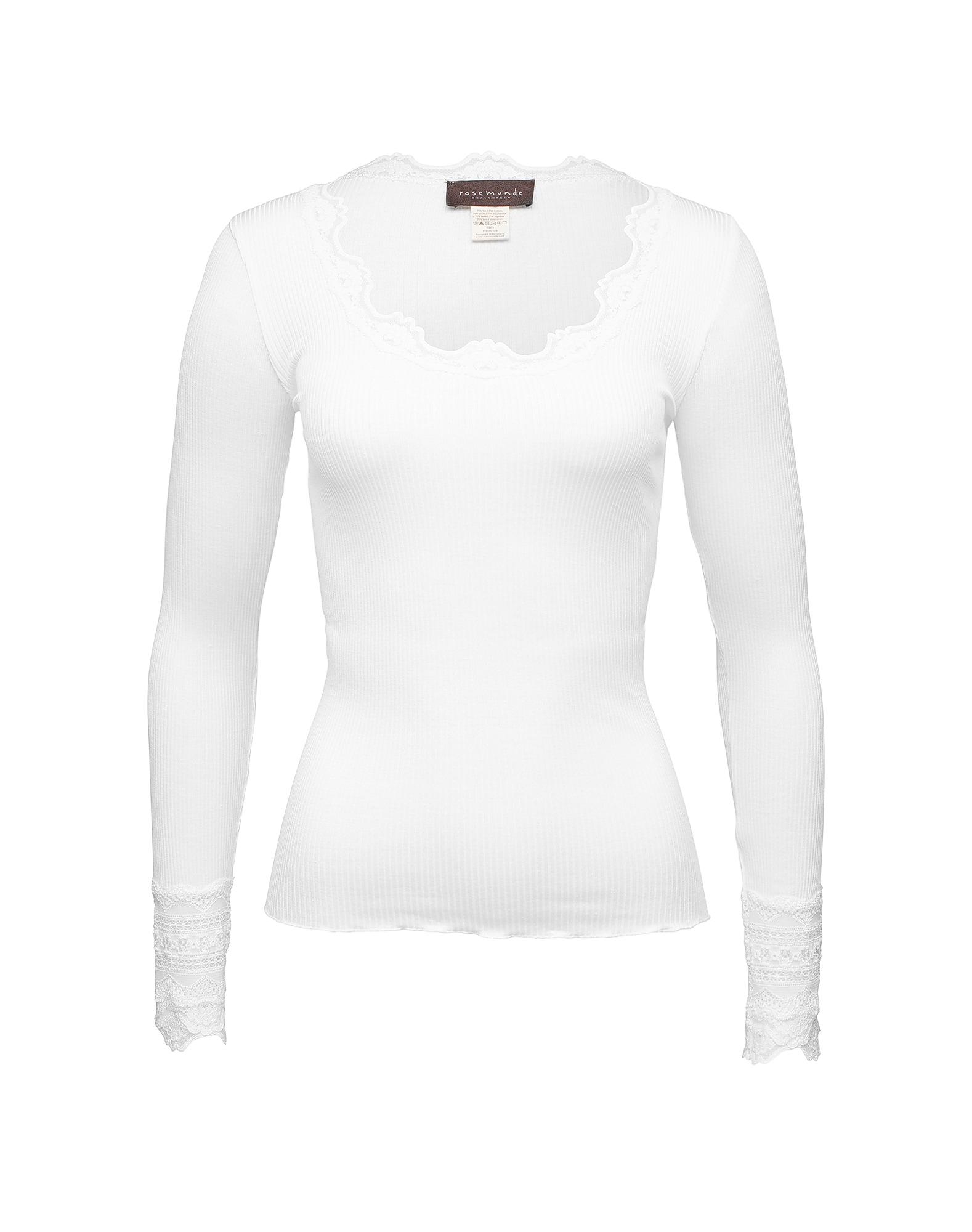 rosemunde Tričko  biela