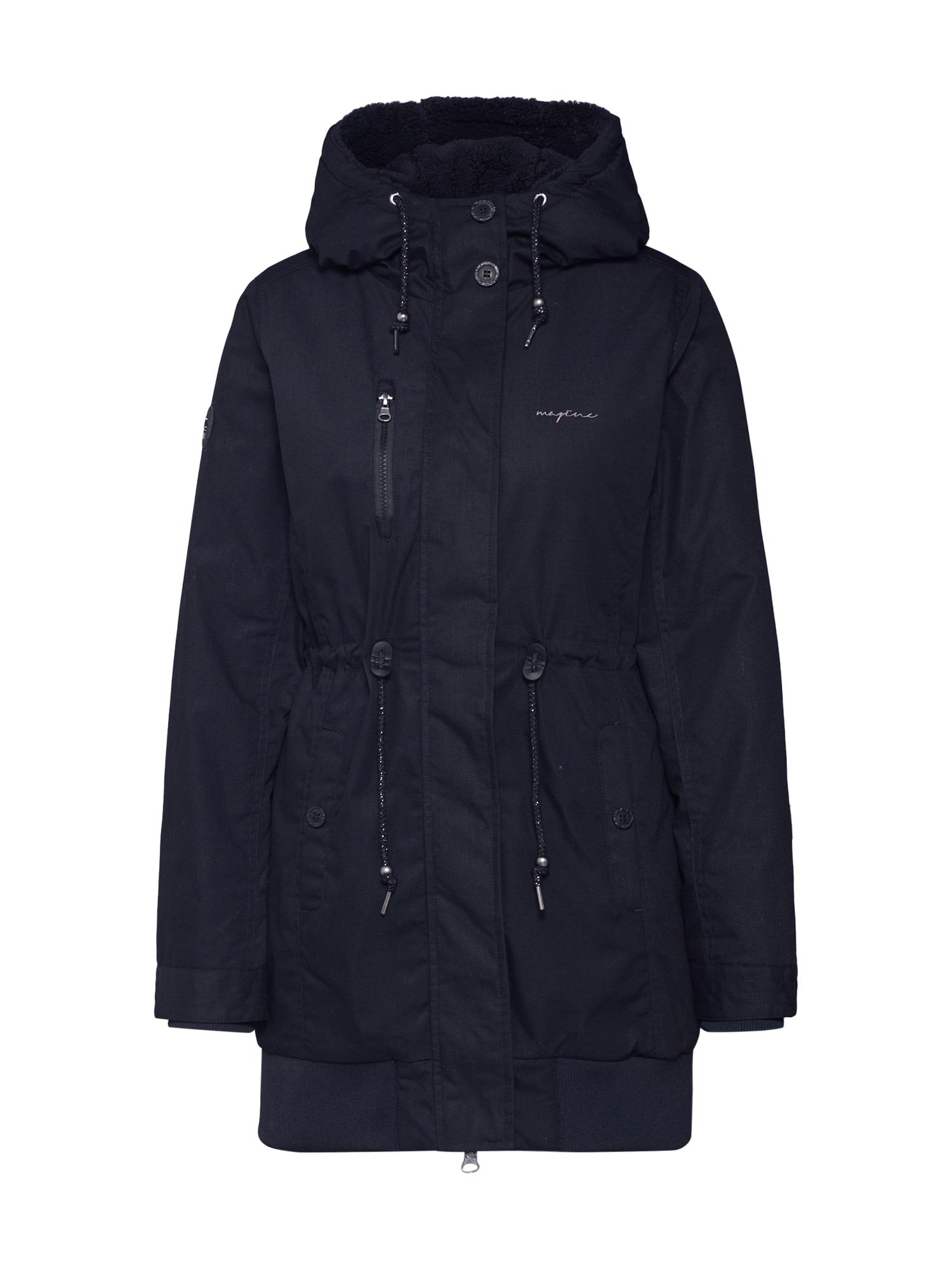 mazine Ilga žieminė striukė 'Chelsey' juoda
