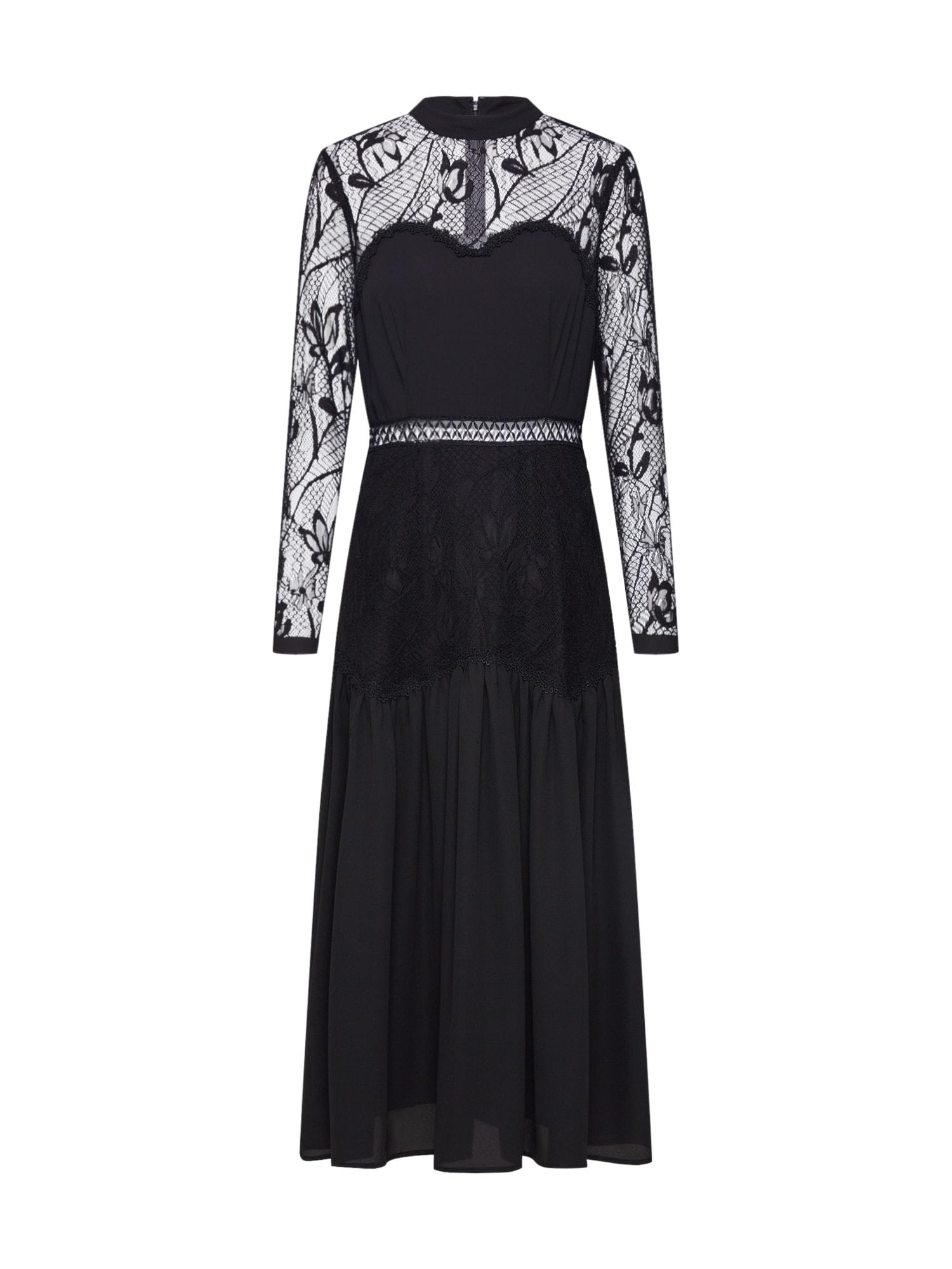 tigha Večerné šaty 'Eliza'  čierna