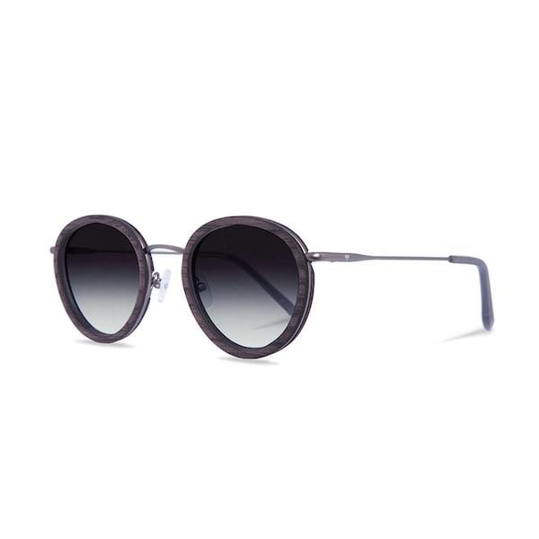 Sonnenbrillen für Frauen - Kerbholz Sonnenbrille 'Berthold' dunkelgrau  - Onlineshop ABOUT YOU