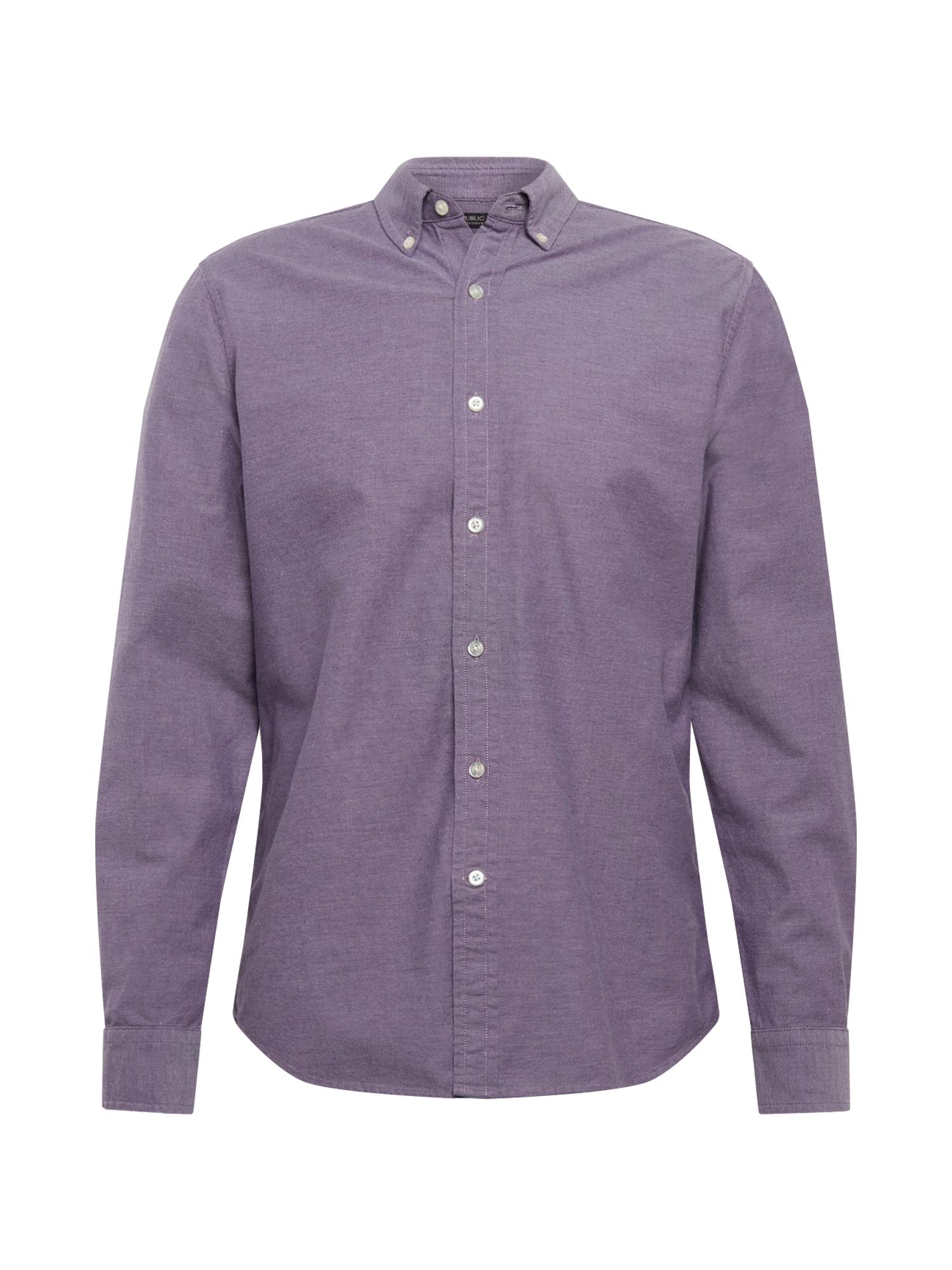Banana Republic Dalykiniai marškiniai 'I' purpurinė