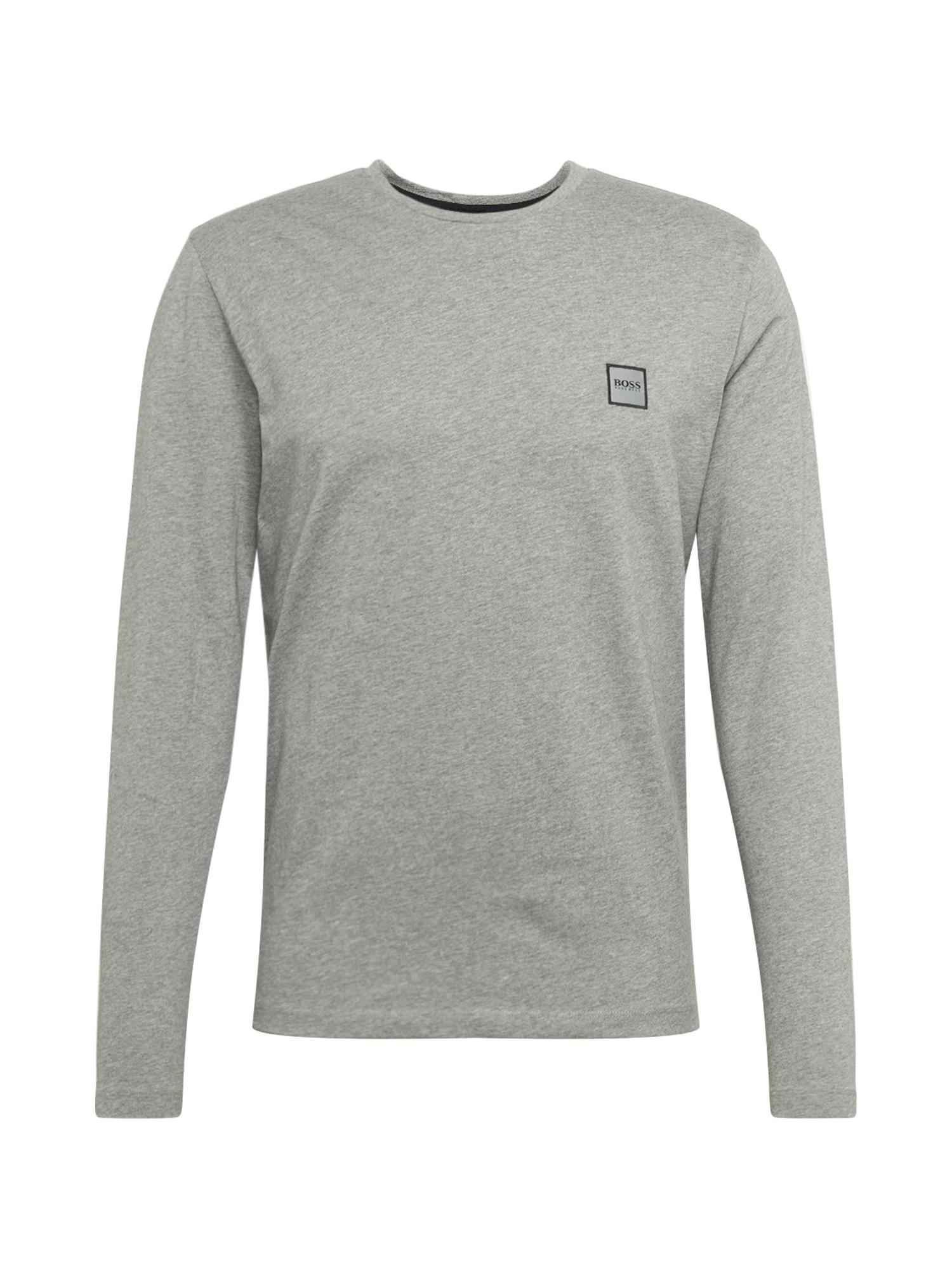 BOSS Marškinėliai 'Tacks' šviesiai pilka