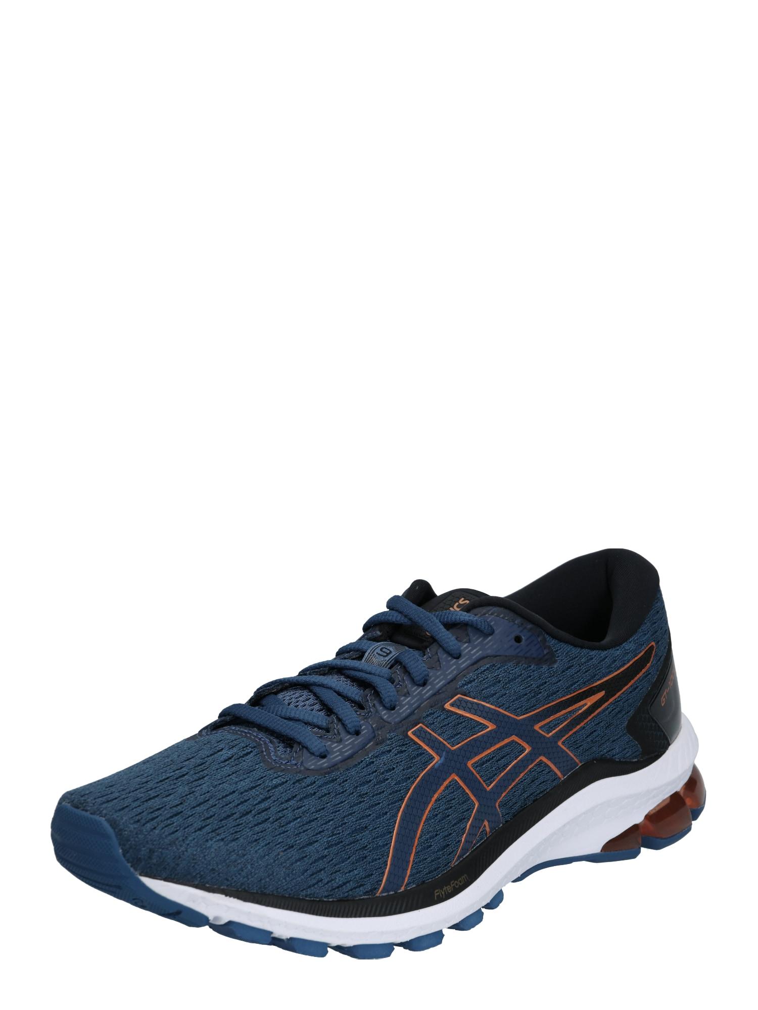 ASICS Bėgimo batai 'GT-1000 9' bronzinė / tamsiai mėlyna