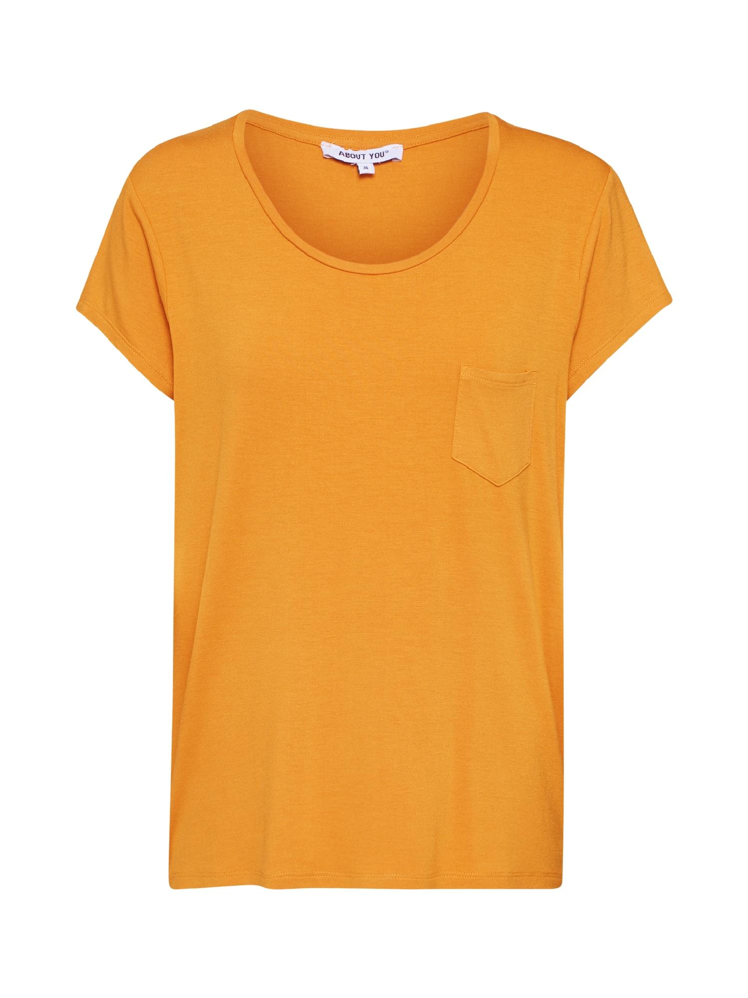 ABOUT YOU Marškinėliai 'Darina' garstyčių spalva
