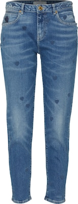 SCOTCH & SODA 'Petit Ami - Indigo Heart' Tapered Jeans
