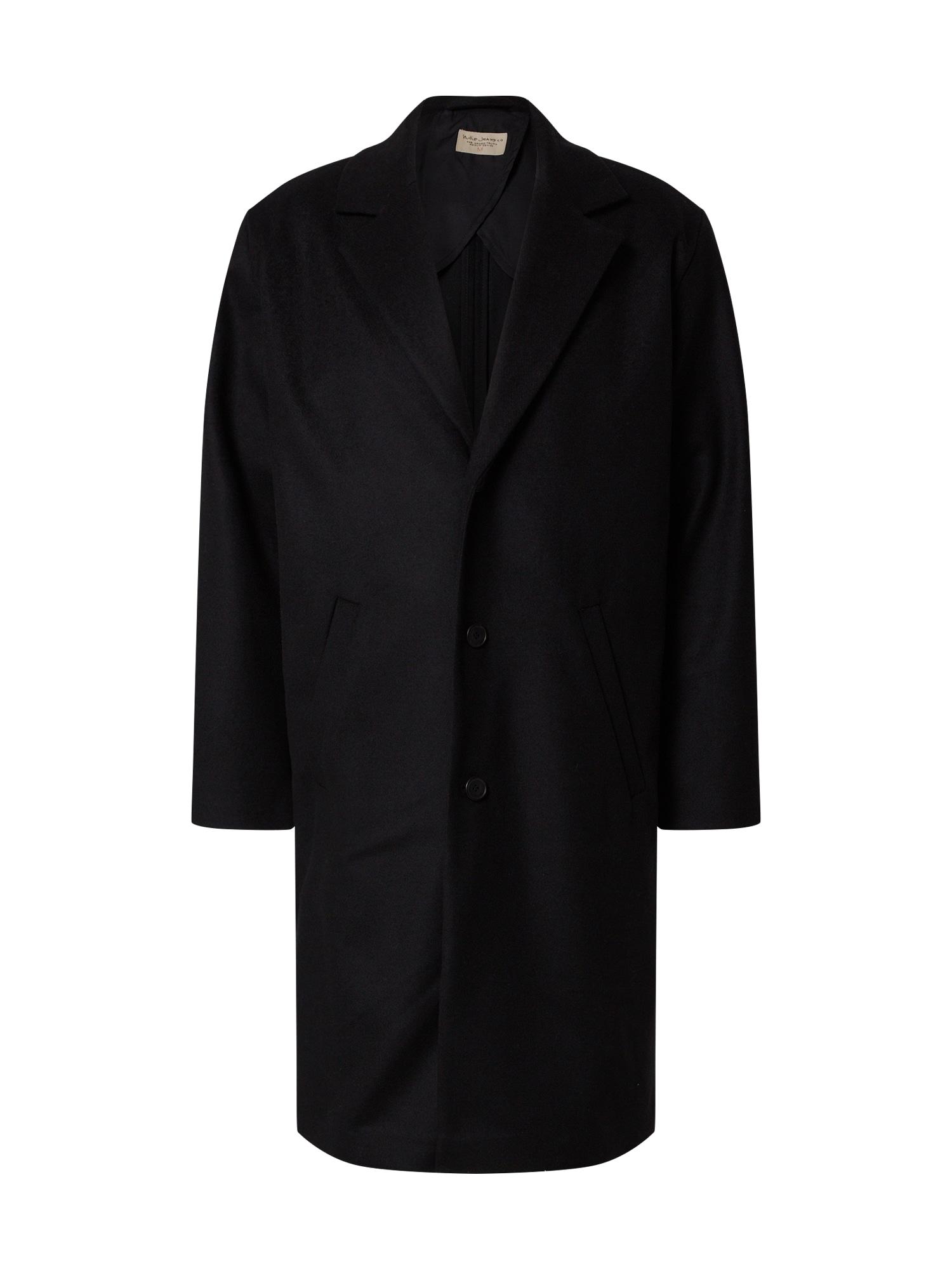 Nudie Jeans Co Demisezoninis paltas 'Ruben' juoda