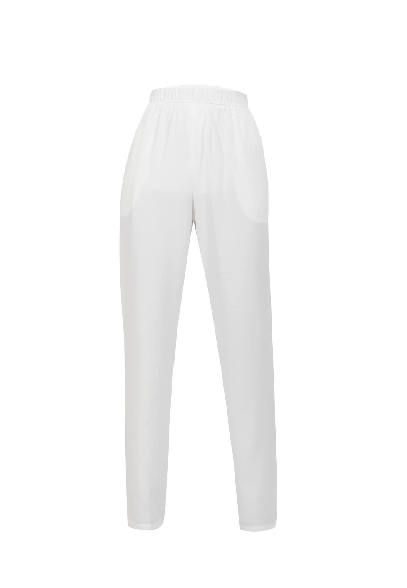 DREIMASTER Kelnės balta