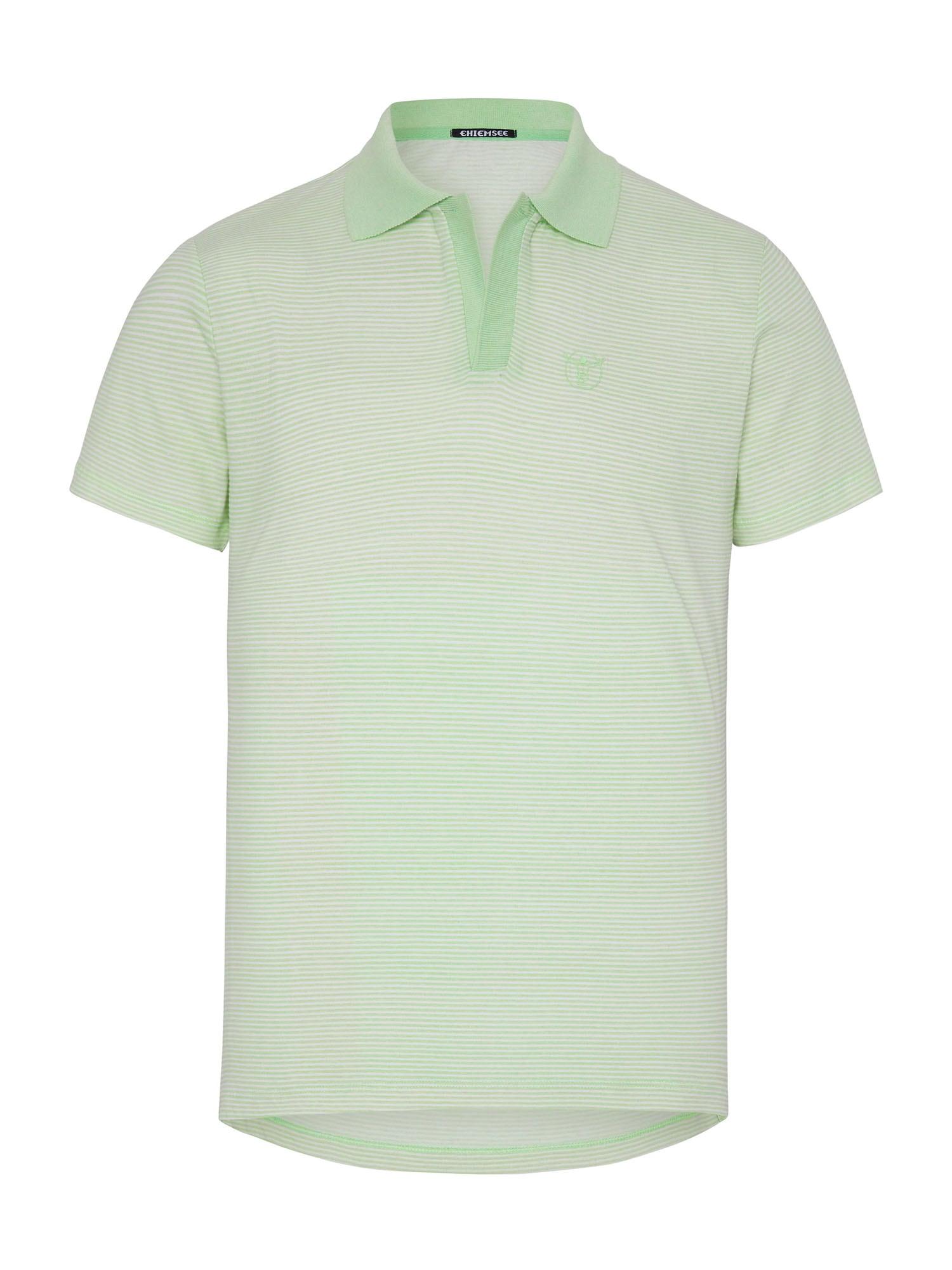 CHIEMSEE Sportiniai marškinėliai balta / šviesiai žalia