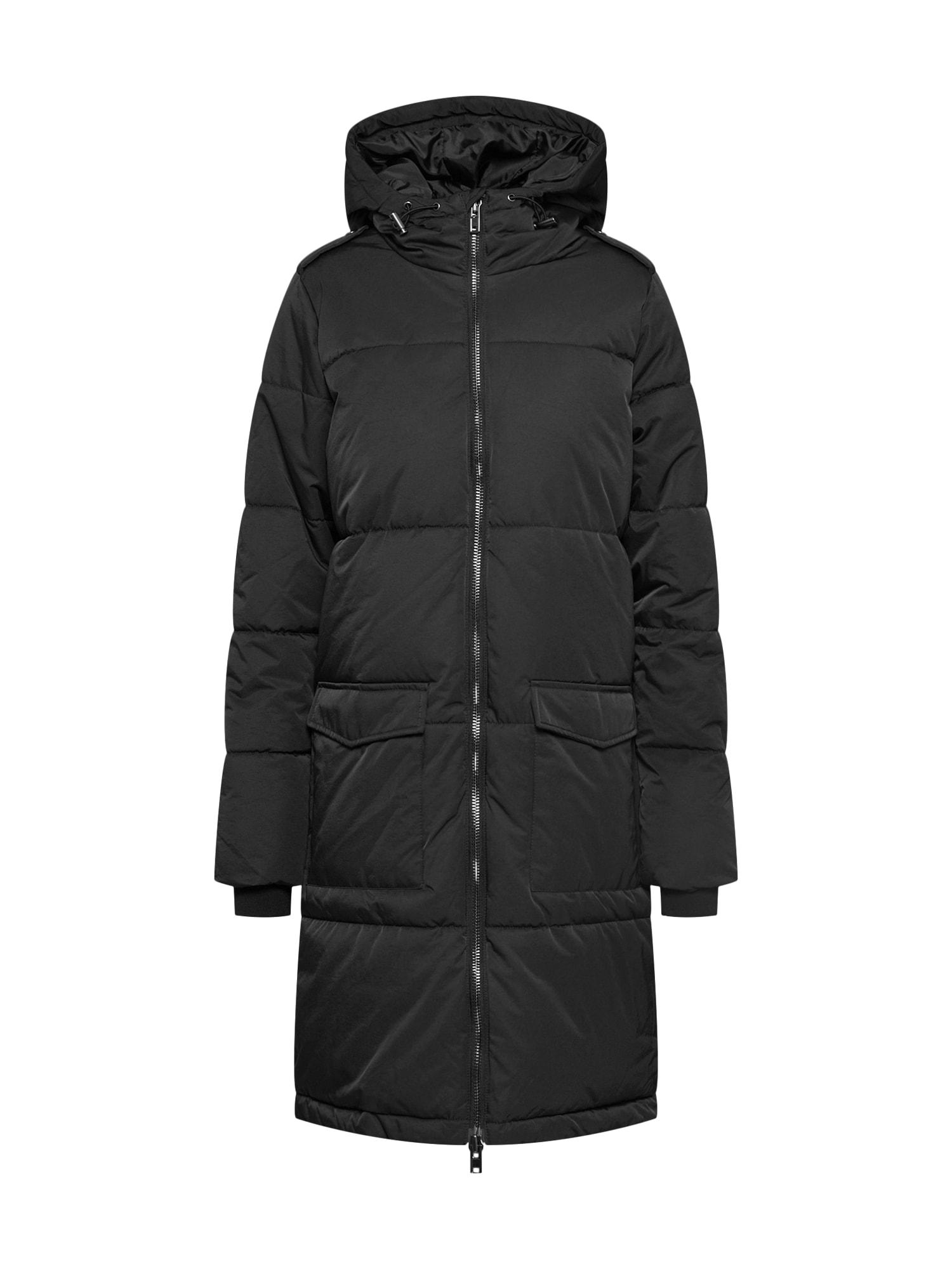 OBJECT Zimní kabát 'ZHANNA'  černá