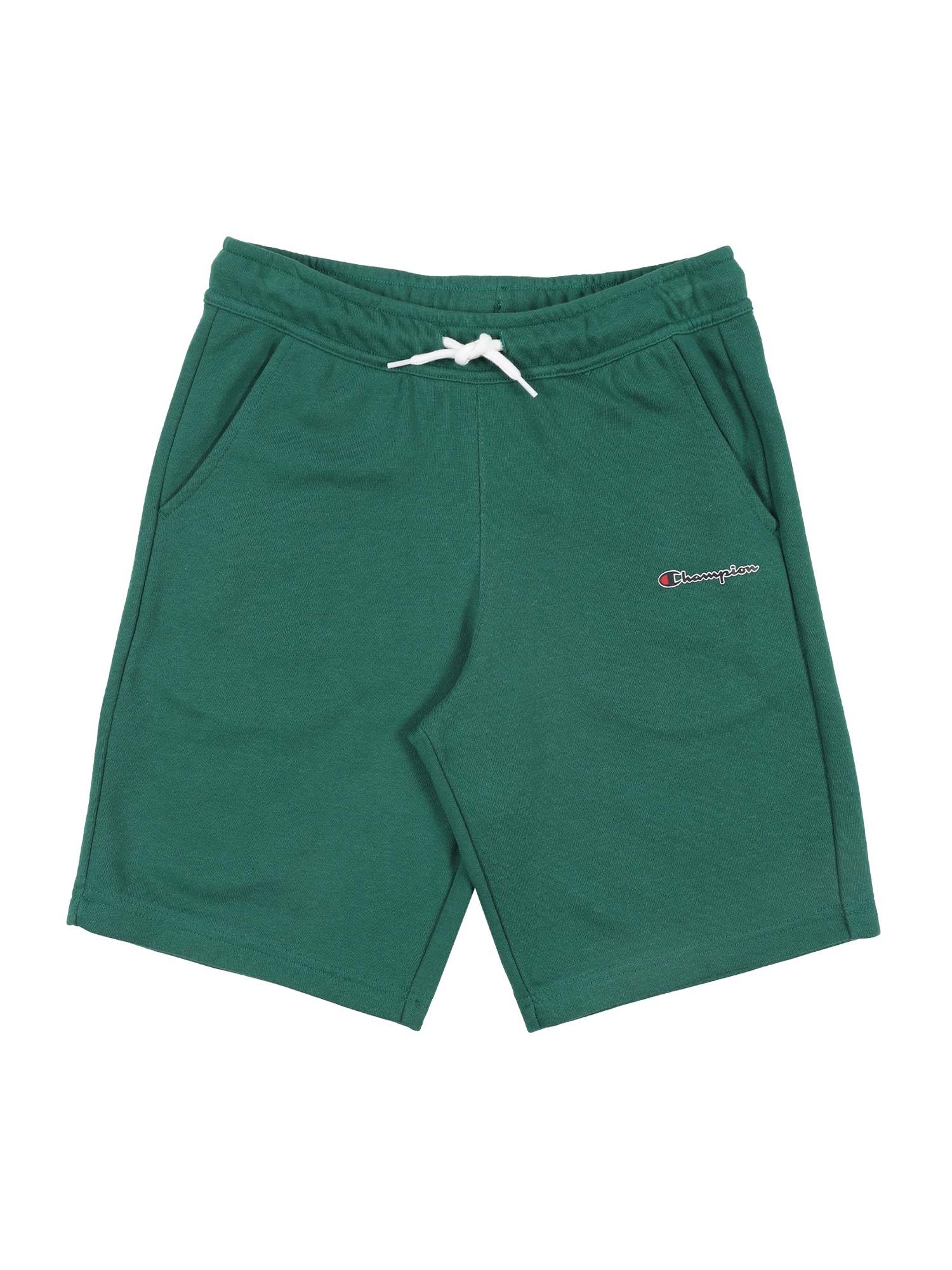 Champion Authentic Athletic Apparel Kelnės 'Bermuda' žalia / balta