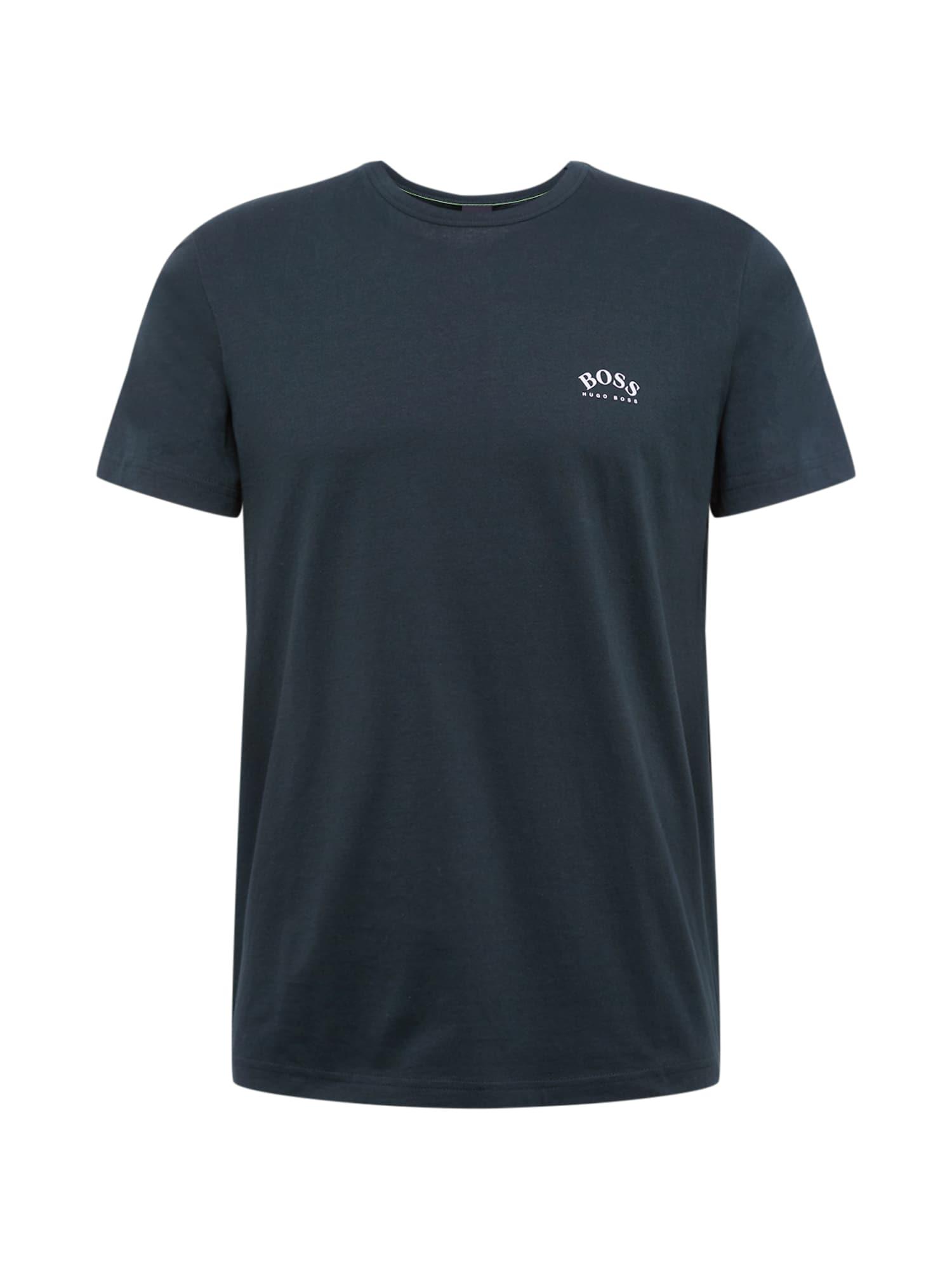 BOSS ATHLEISURE Marškinėliai įdegio spalva
