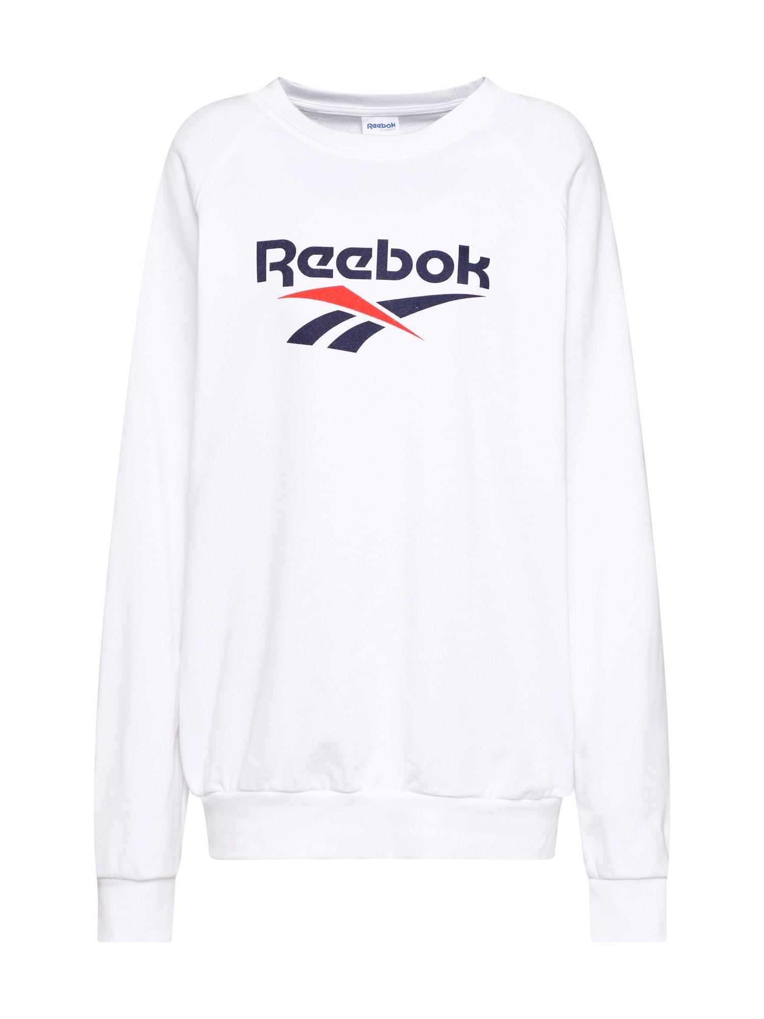 Mikina námořnická modř červená bílá Reebok Classic