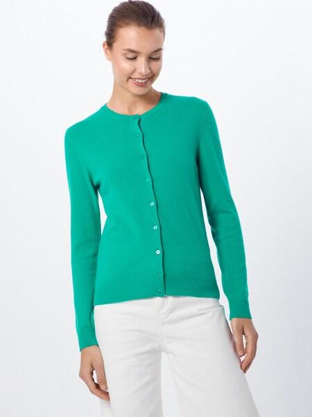 Jacken - Strickjacke › United Colors of Benetton › grün  - Onlineshop ABOUT YOU