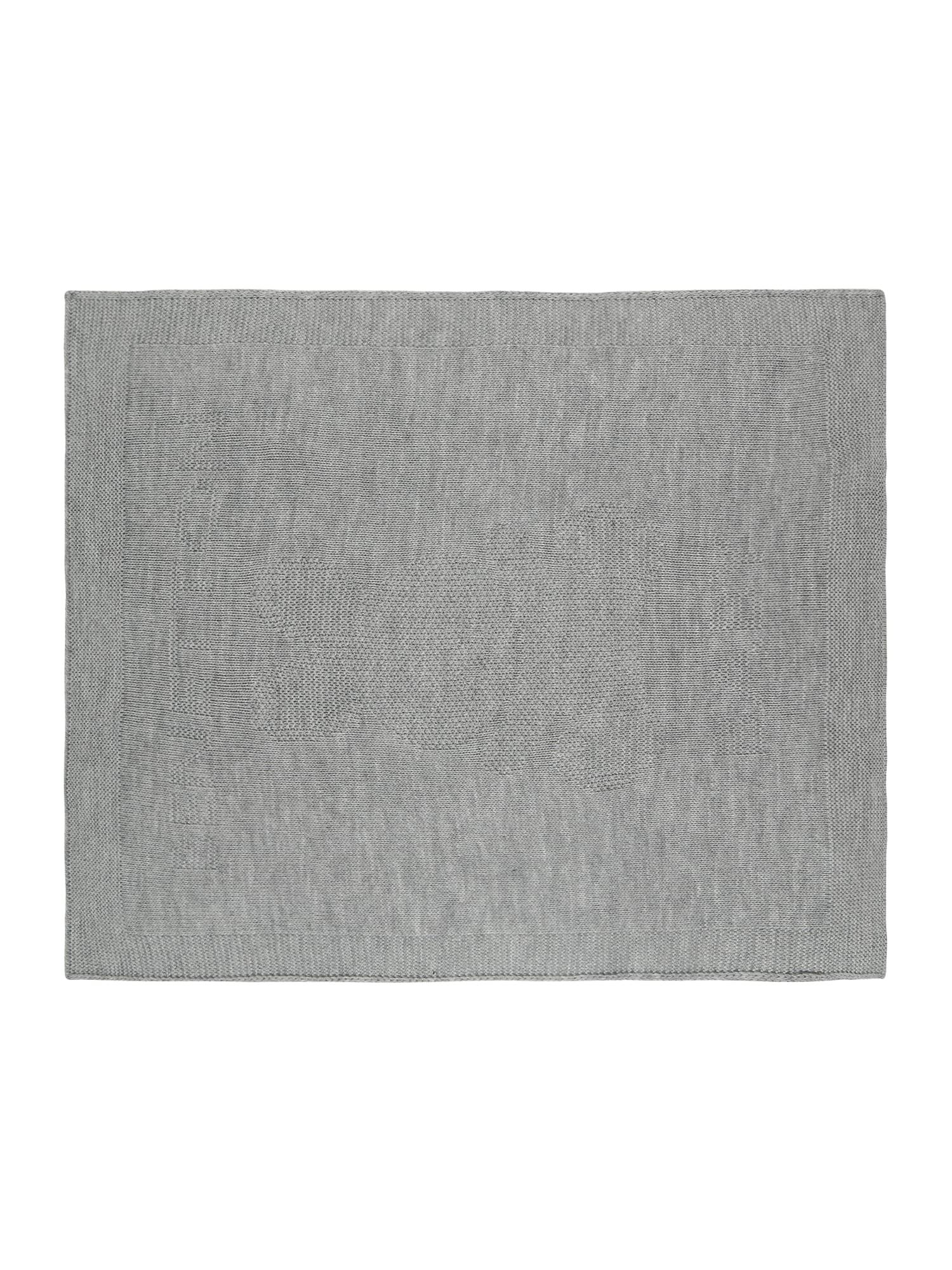 UNITED COLORS OF BENETTON Dětská deka  šedý melír