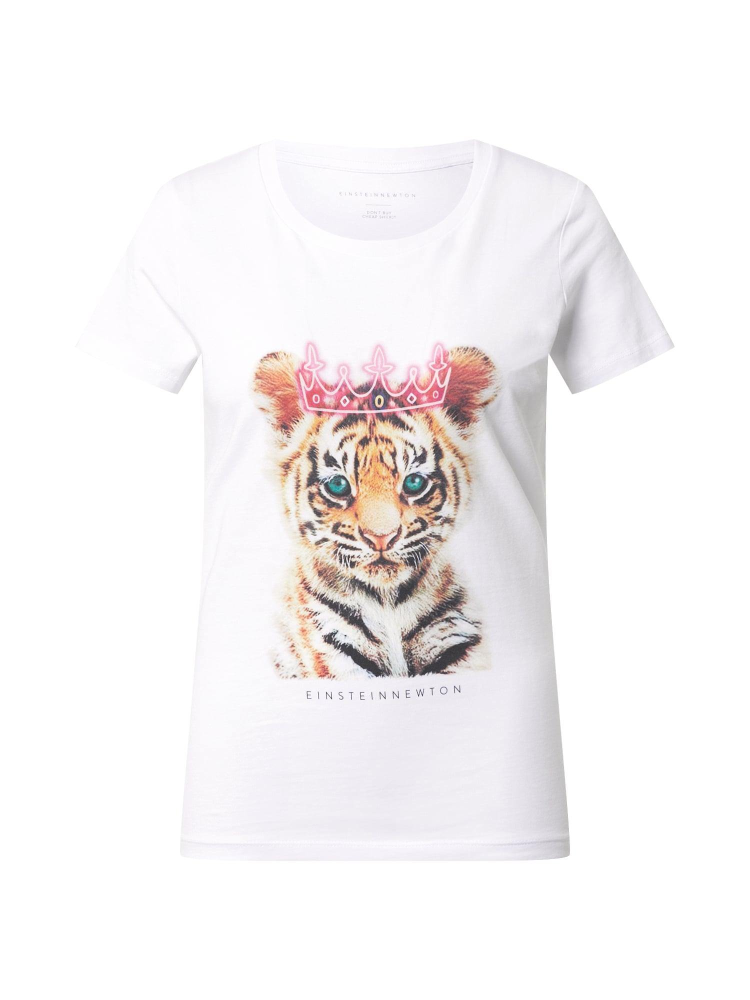 EINSTEIN & NEWTON Marškinėliai balta / mišrios spalvos