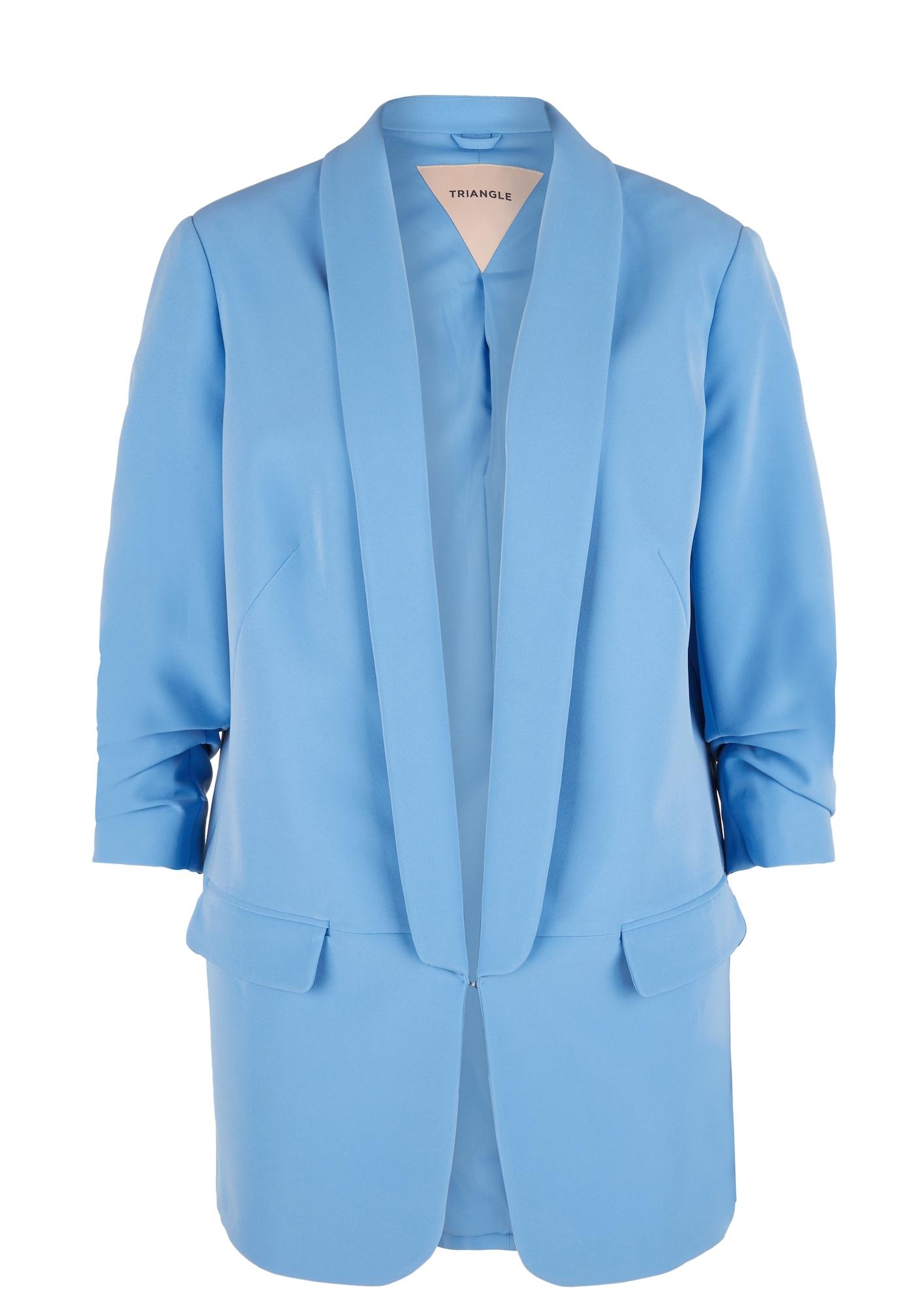 TRIANGLE Blazer švarkas šviesiai mėlyna