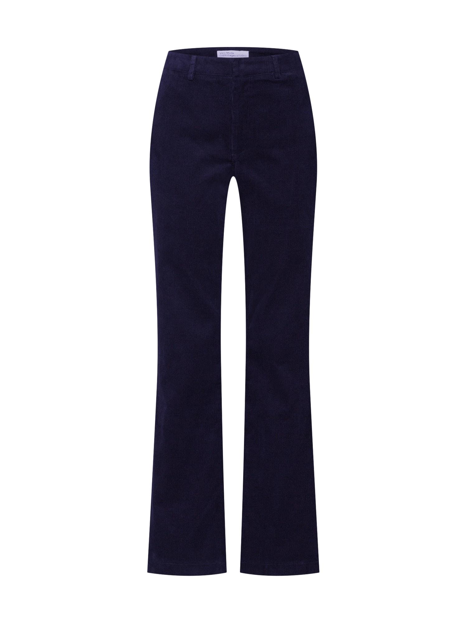 Vero Moda Copenhagen STUDIO Kalhoty 'SINA'  noční modrá