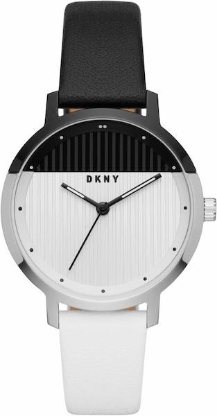 Uhren für Frauen - DKNY Quarzuhr 'THE MODERNIST, NY2642' schwarz weiß  - Onlineshop ABOUT YOU