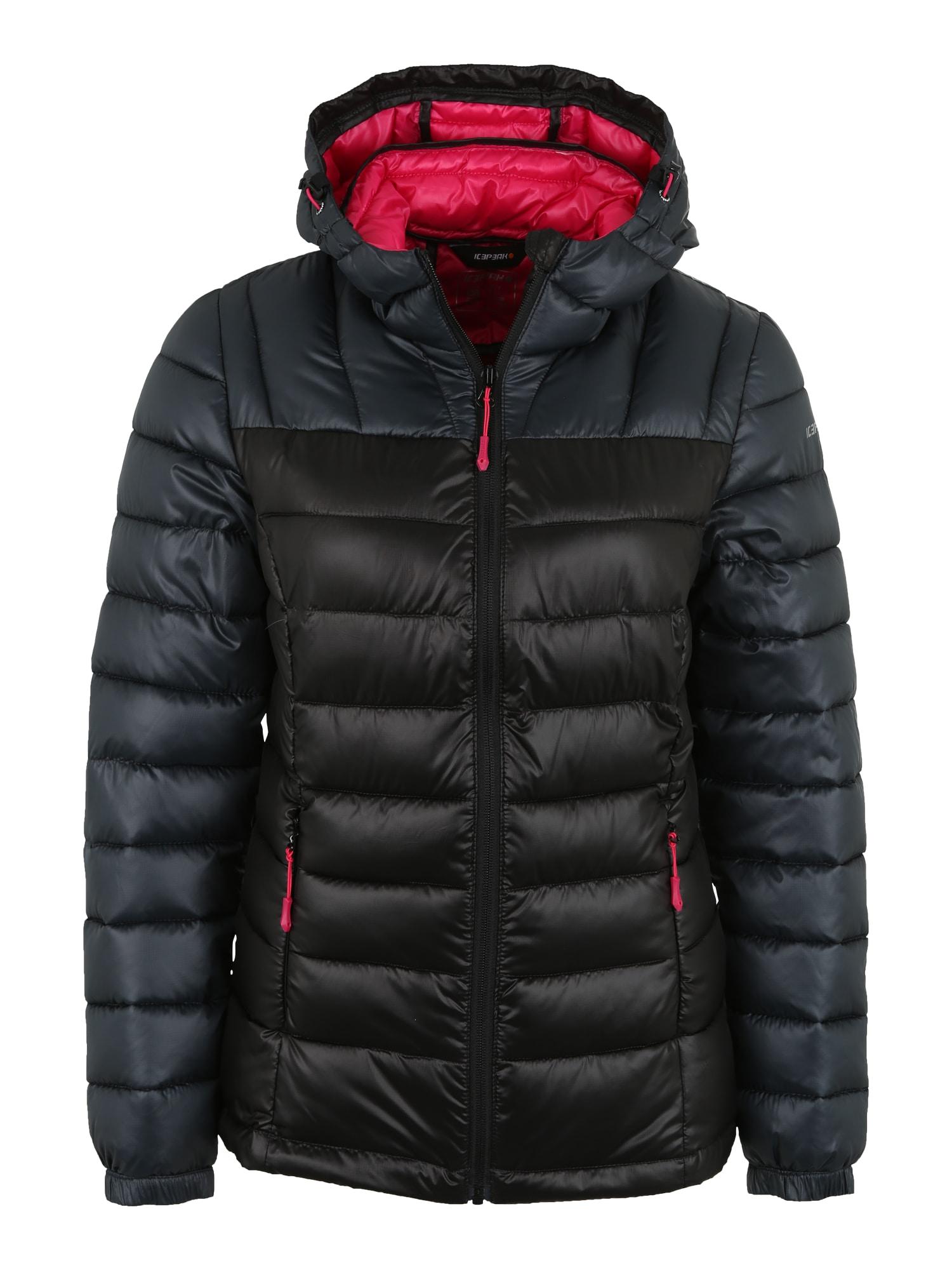 Outdoorová bunda Layan černá ICEPEAK
