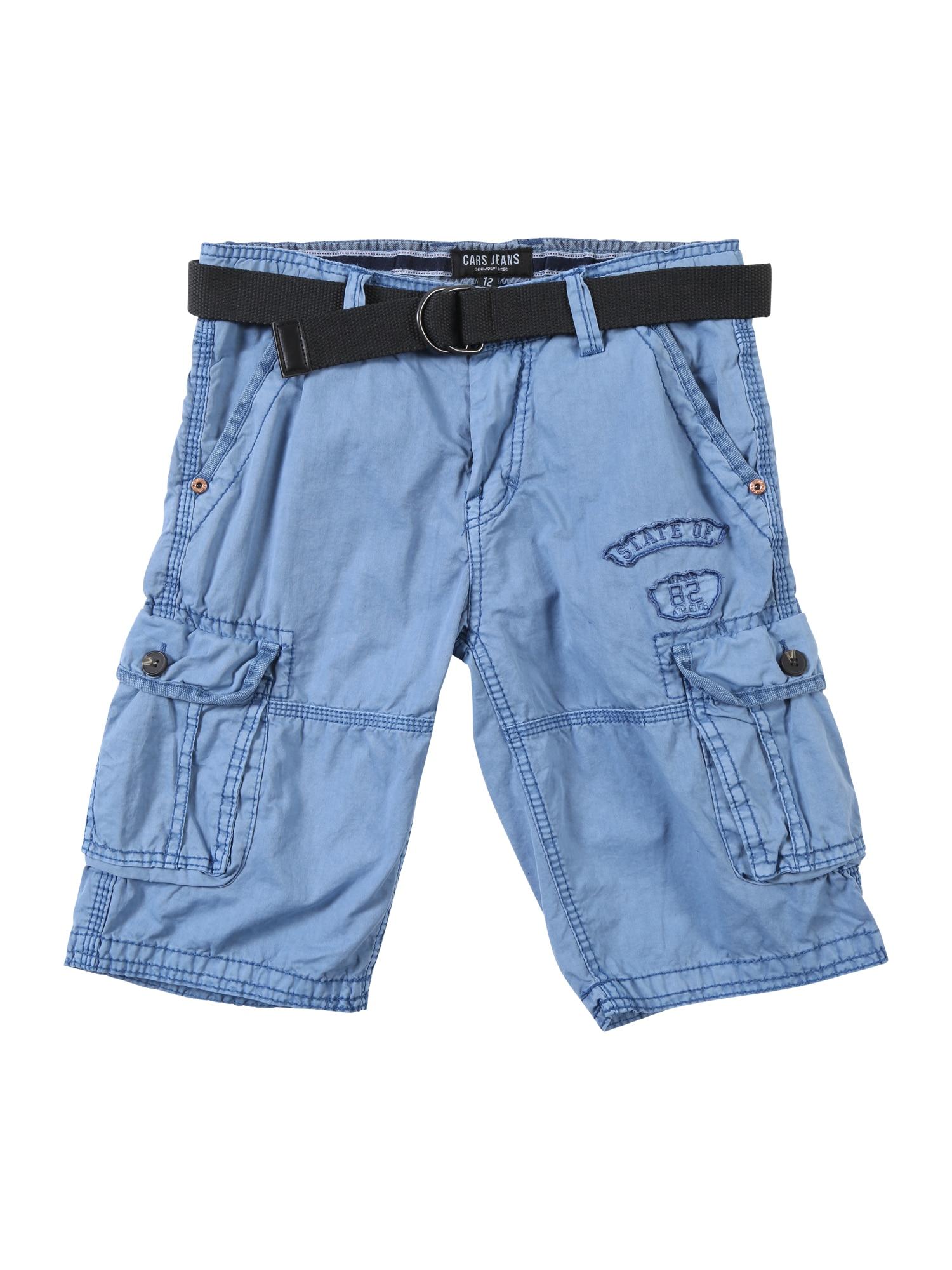 Kalhoty modrá černá Cars Jeans