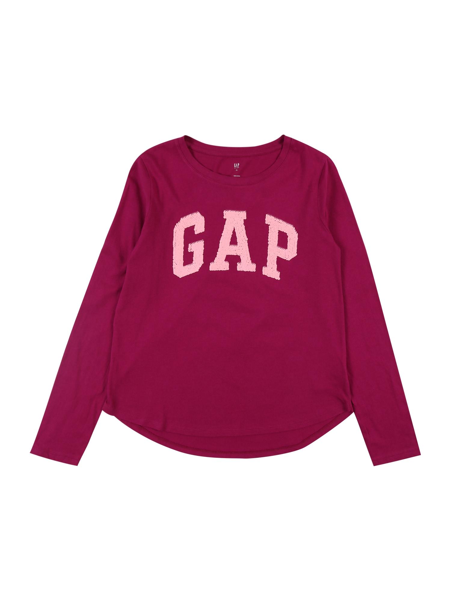 GAP Tričko  světle růžová / bobule
