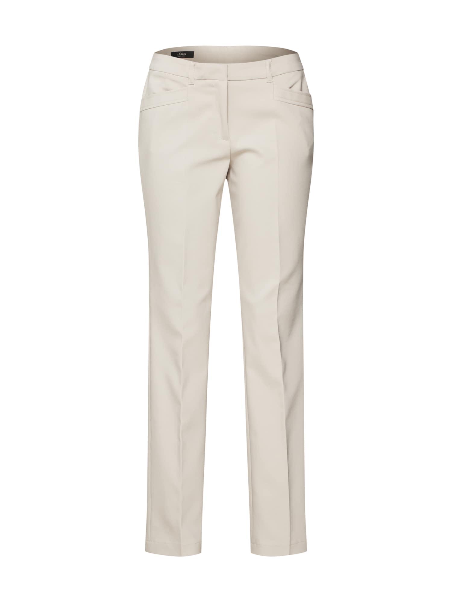 Kalhoty s puky písková S.Oliver BLACK LABEL
