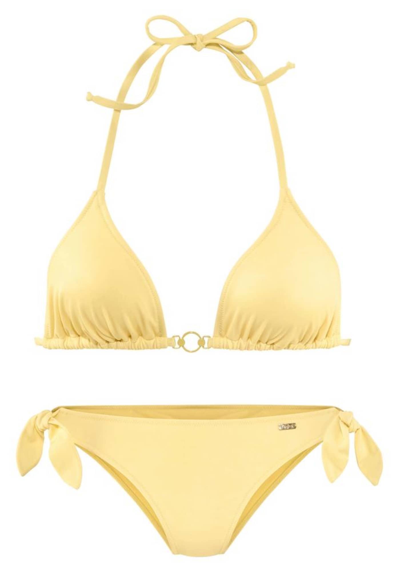 BUFFALO Bikinis šviesiai geltona