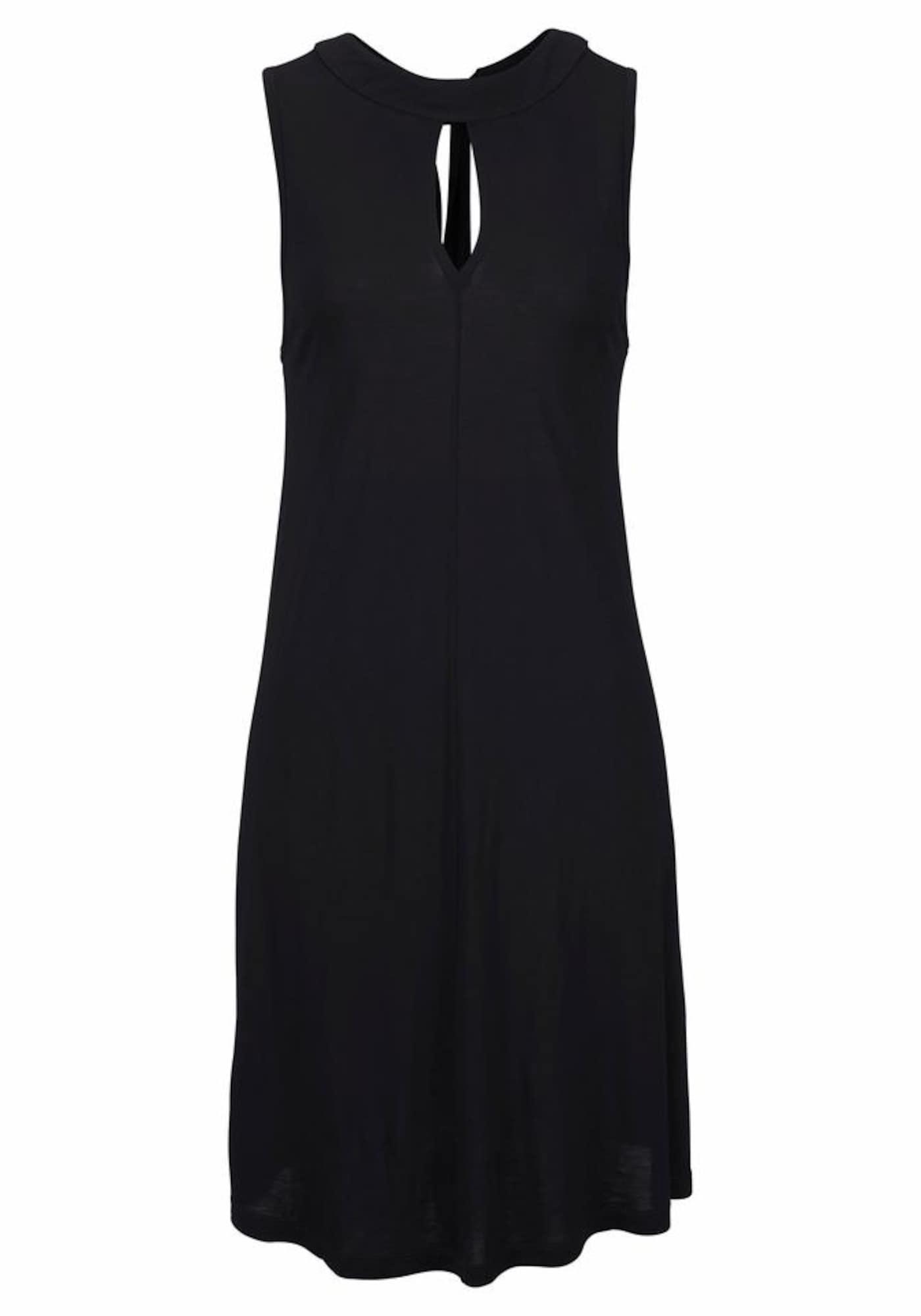 LASCANA Vasarinė suknelė juoda