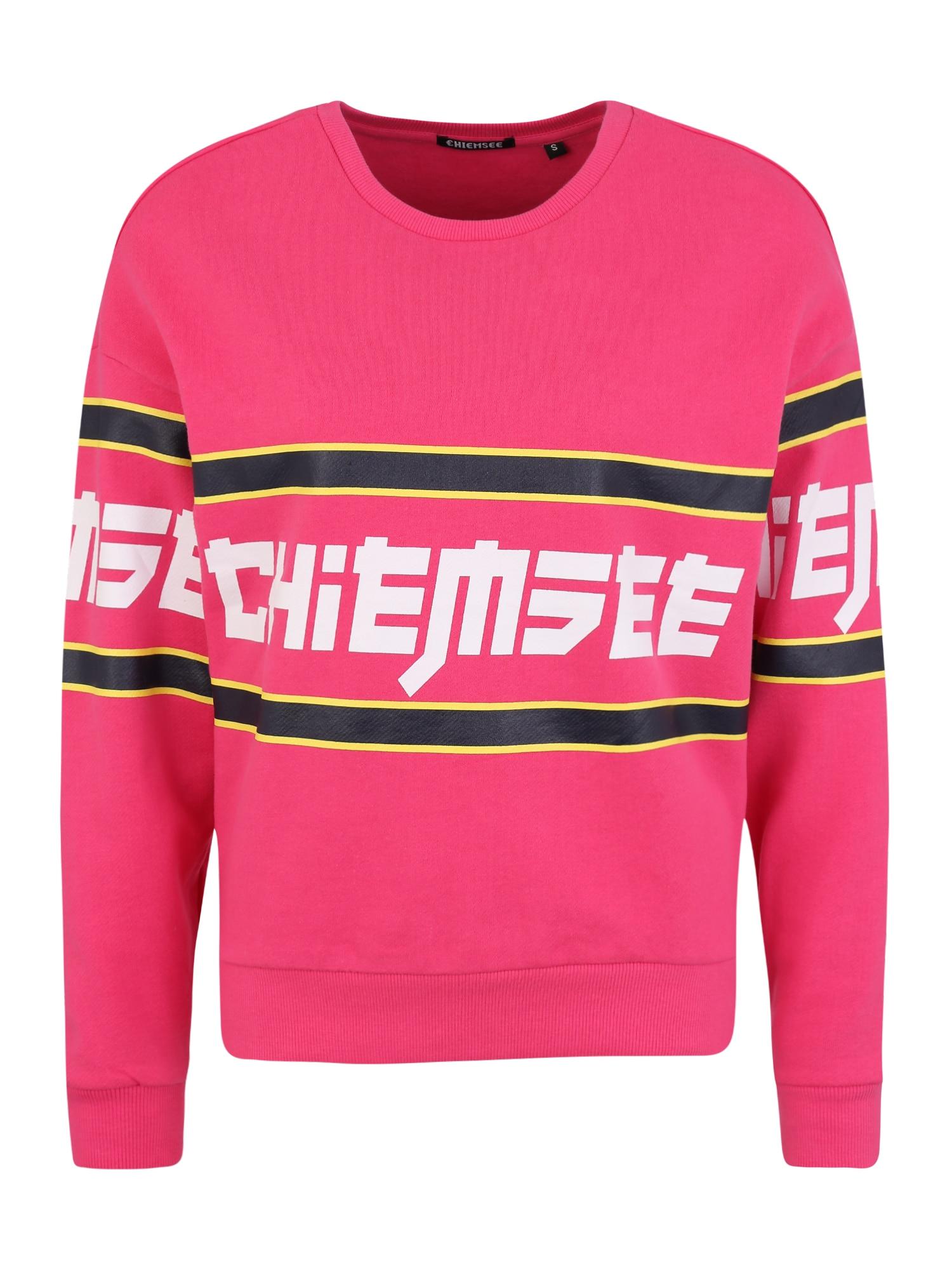 CHIEMSEE Sportinio tipo megztinis rausvai raudona